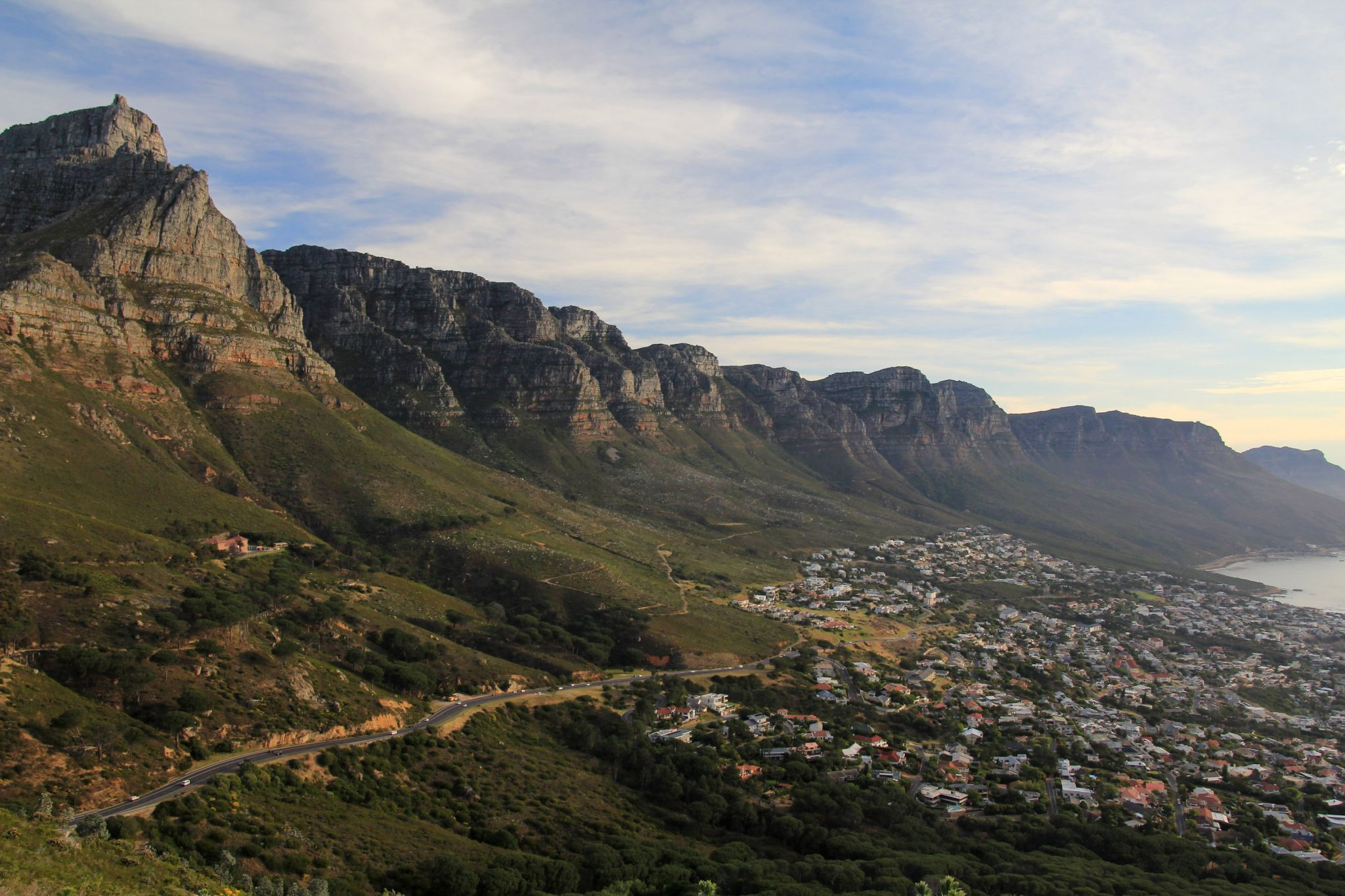Table Mountain Overview, Cape Town, South Africa