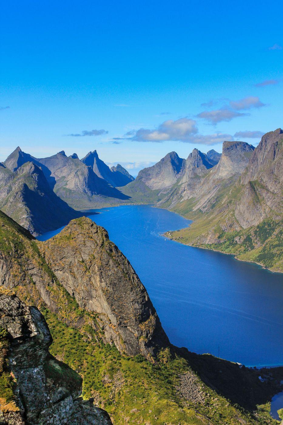 View from Reinebringen, Norway