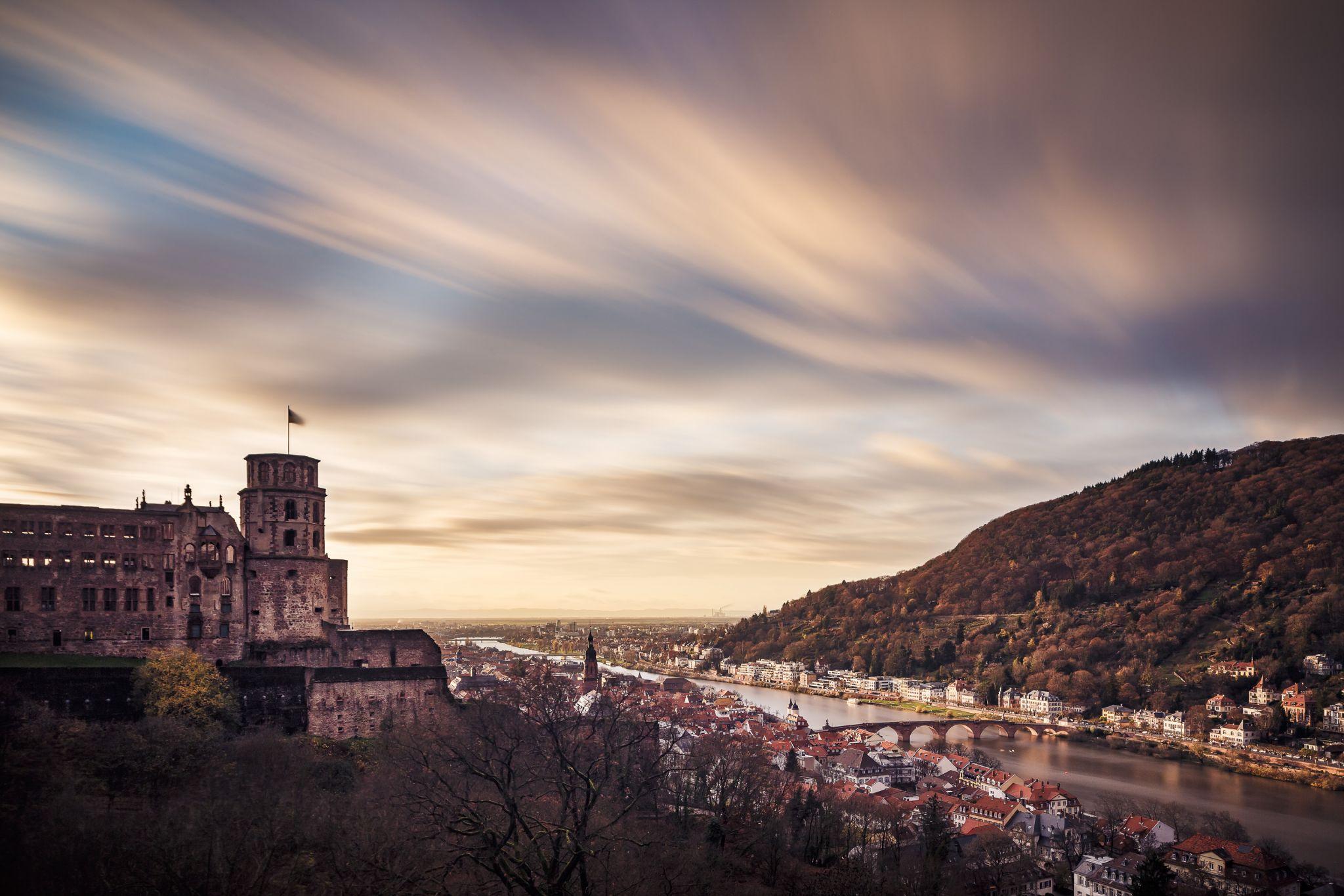 Scheffelterrasse, Heidelberg, Germany