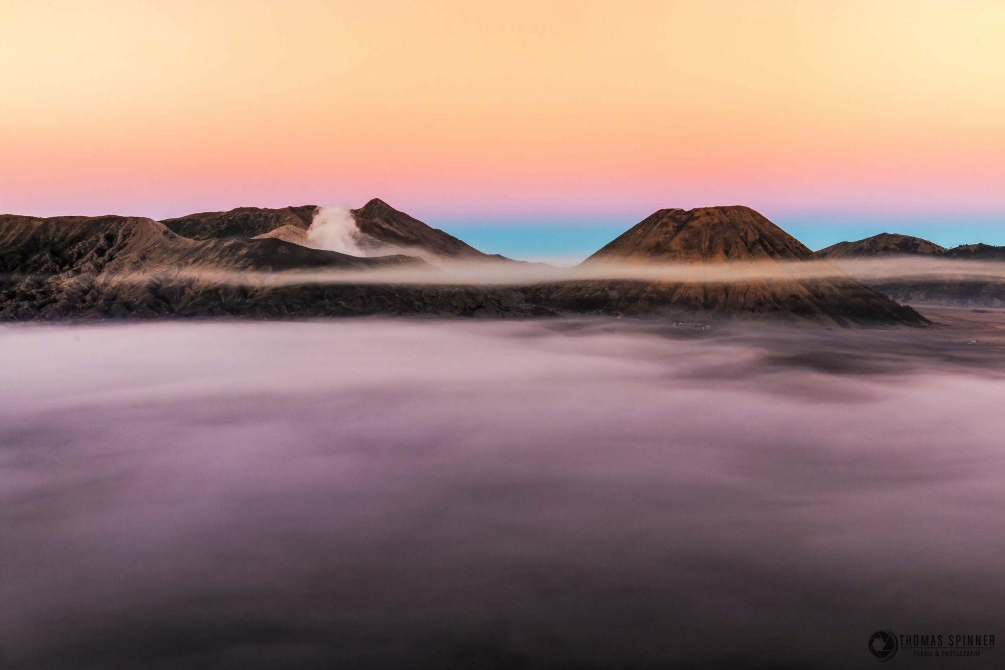 Volcanoes Bromo & Batok, Indonesia