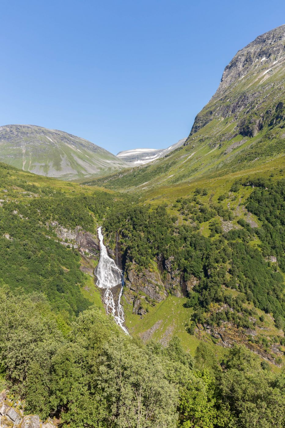 Waterfall near Geiranger, Norway