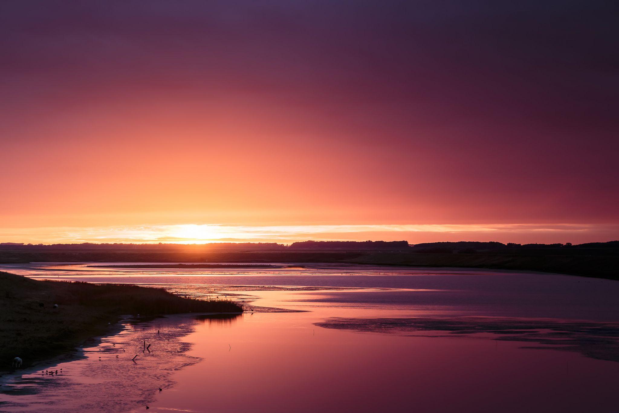 Zeeland Sunset, Netherlands
