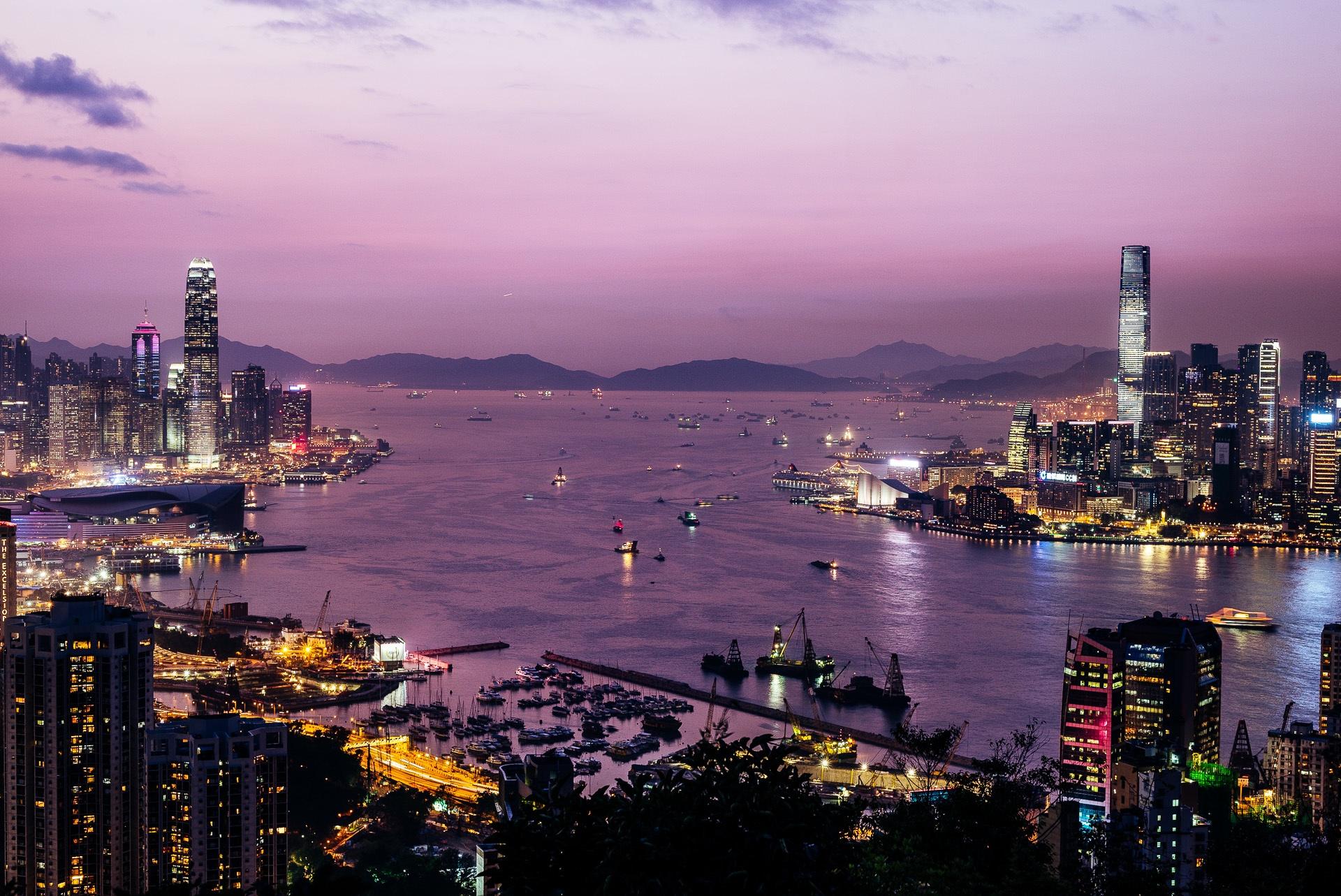 Braemar Hill View Point, Hong Kong