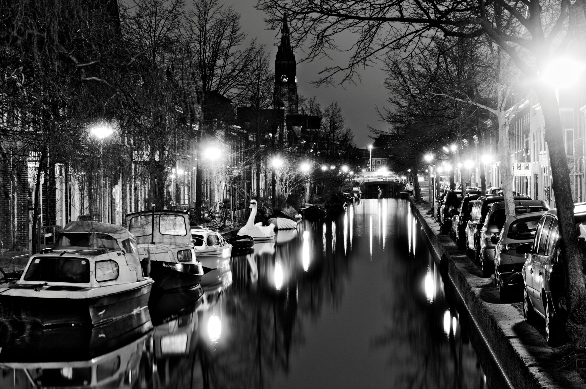 Delft Canals, Netherlands