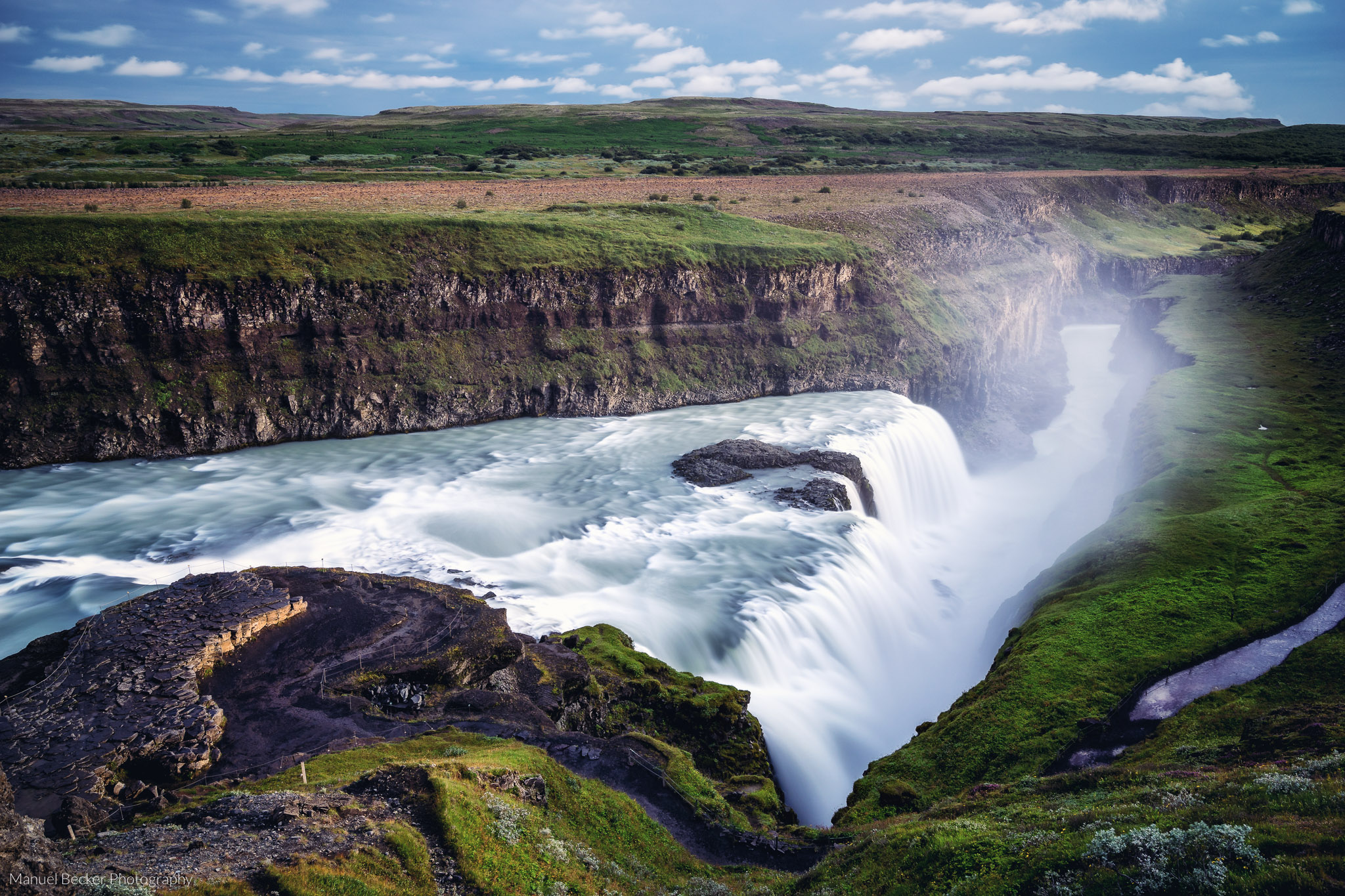 Gullfoss waterfall (Golden Circle), Iceland