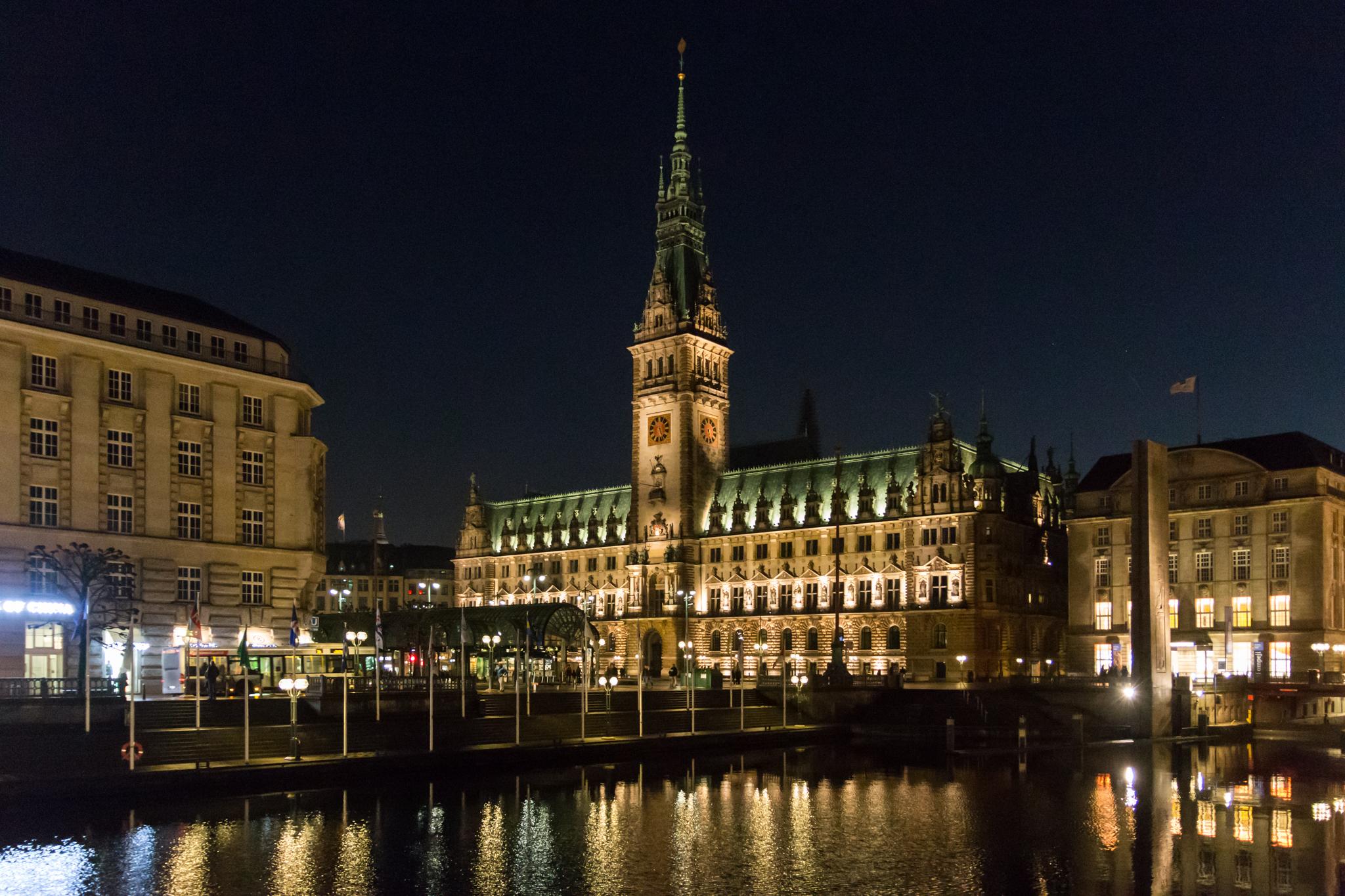 Hamburg Rathaus, Germany