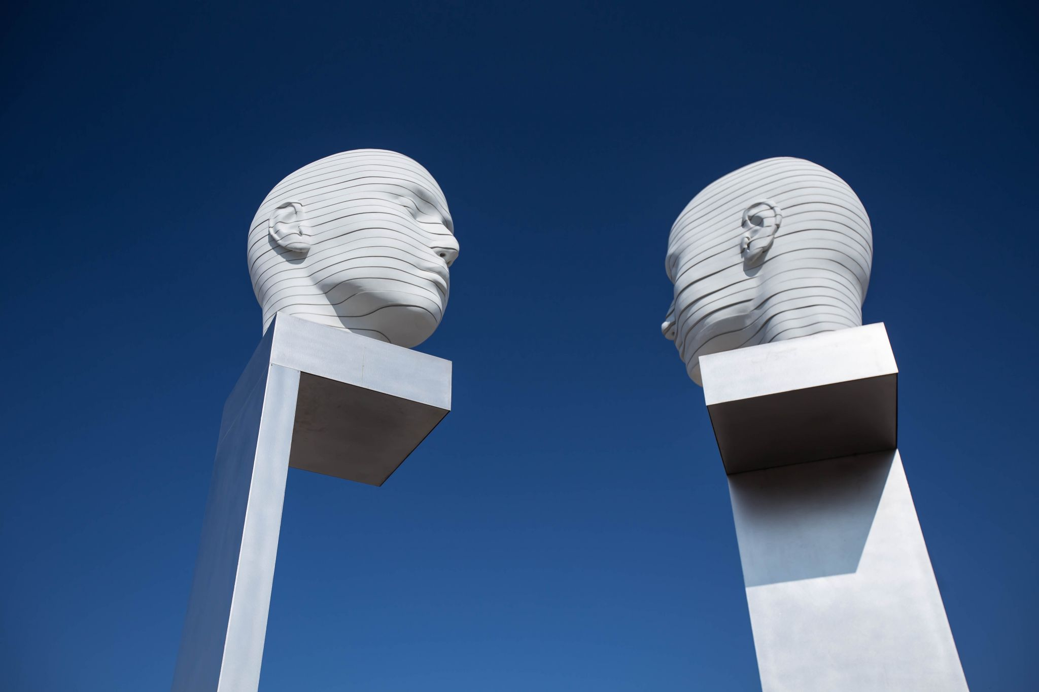 Heads of Adlershof, Germany