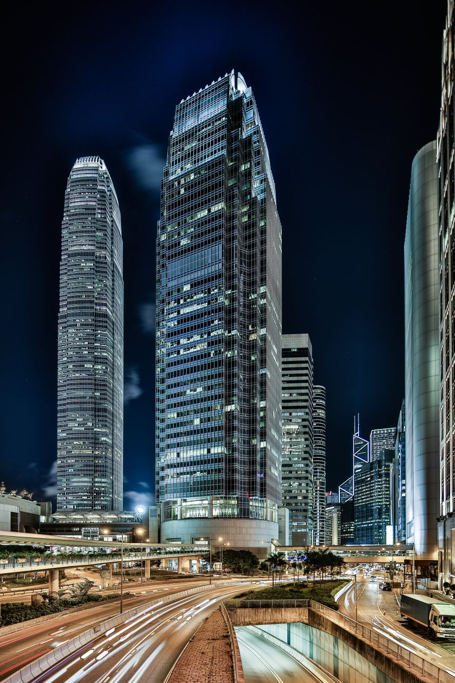 Hong Kong, IFC one and IFC two, Hong Kong