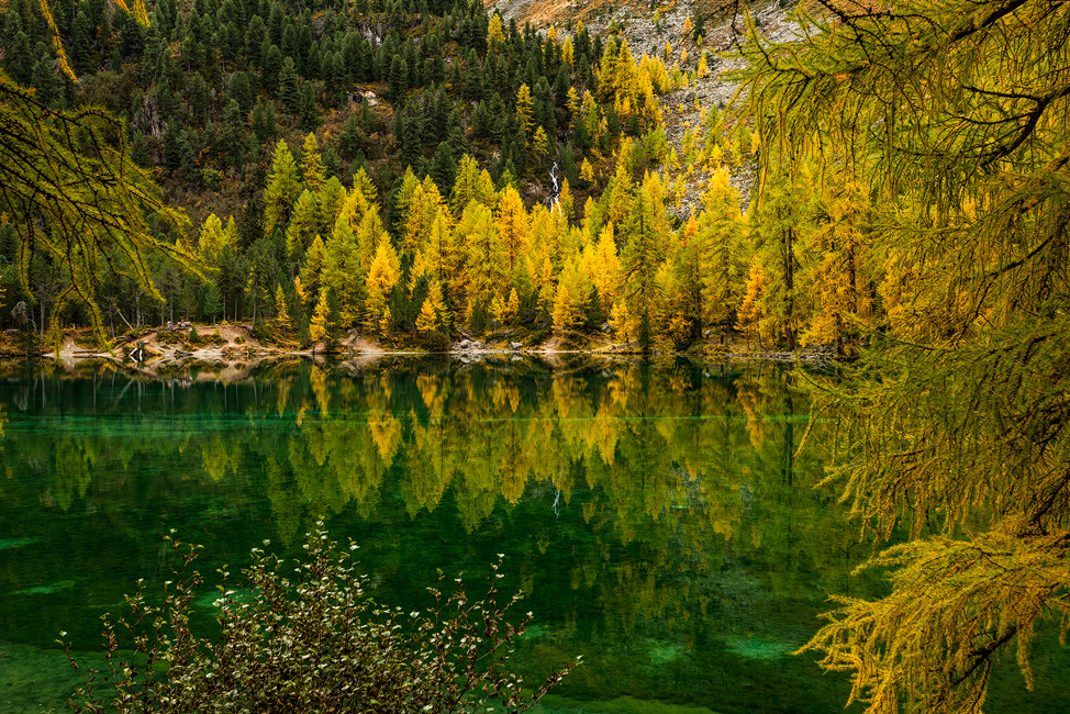 Lake Palpuognia, Switzerland