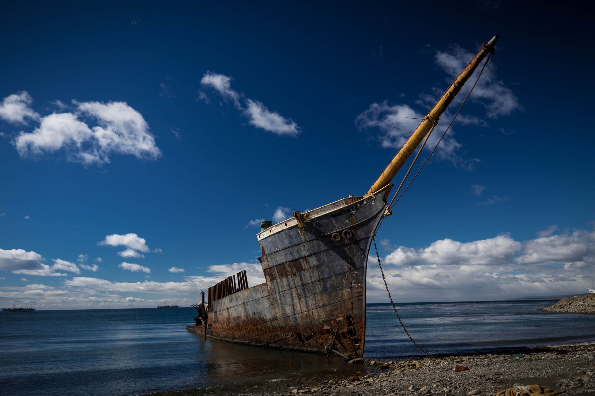Lord Lonsdale Shipwreck, Punta Arena, Chile