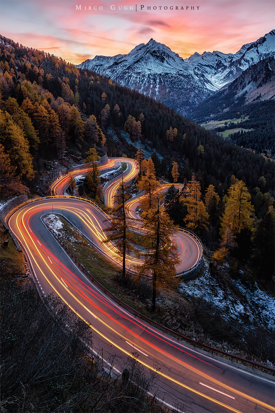 Maloja Pass Road, Switzerland