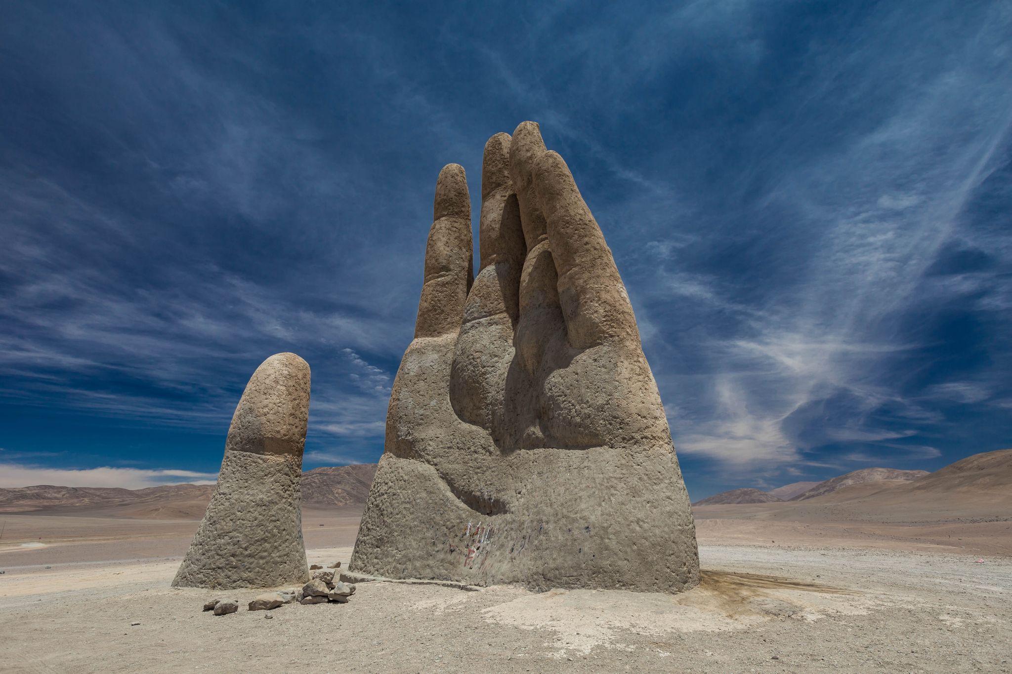 Mano del Desierto, The Hand of Chile, Chile