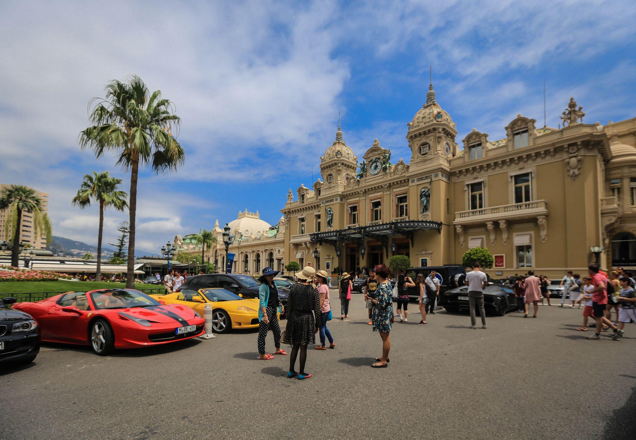 Place du Casino, Monaco