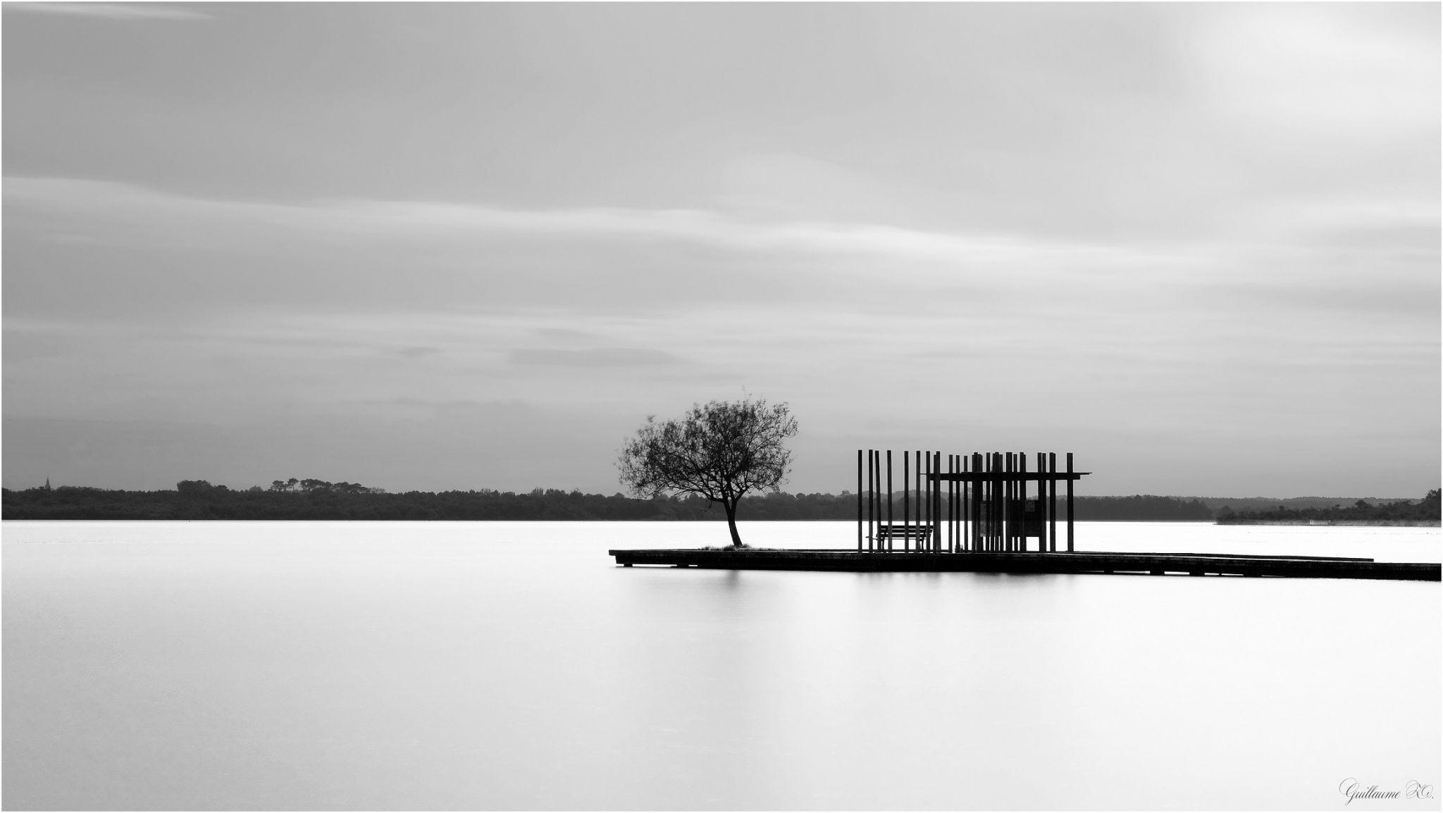 Ponton Du Lac D Azur Landes France