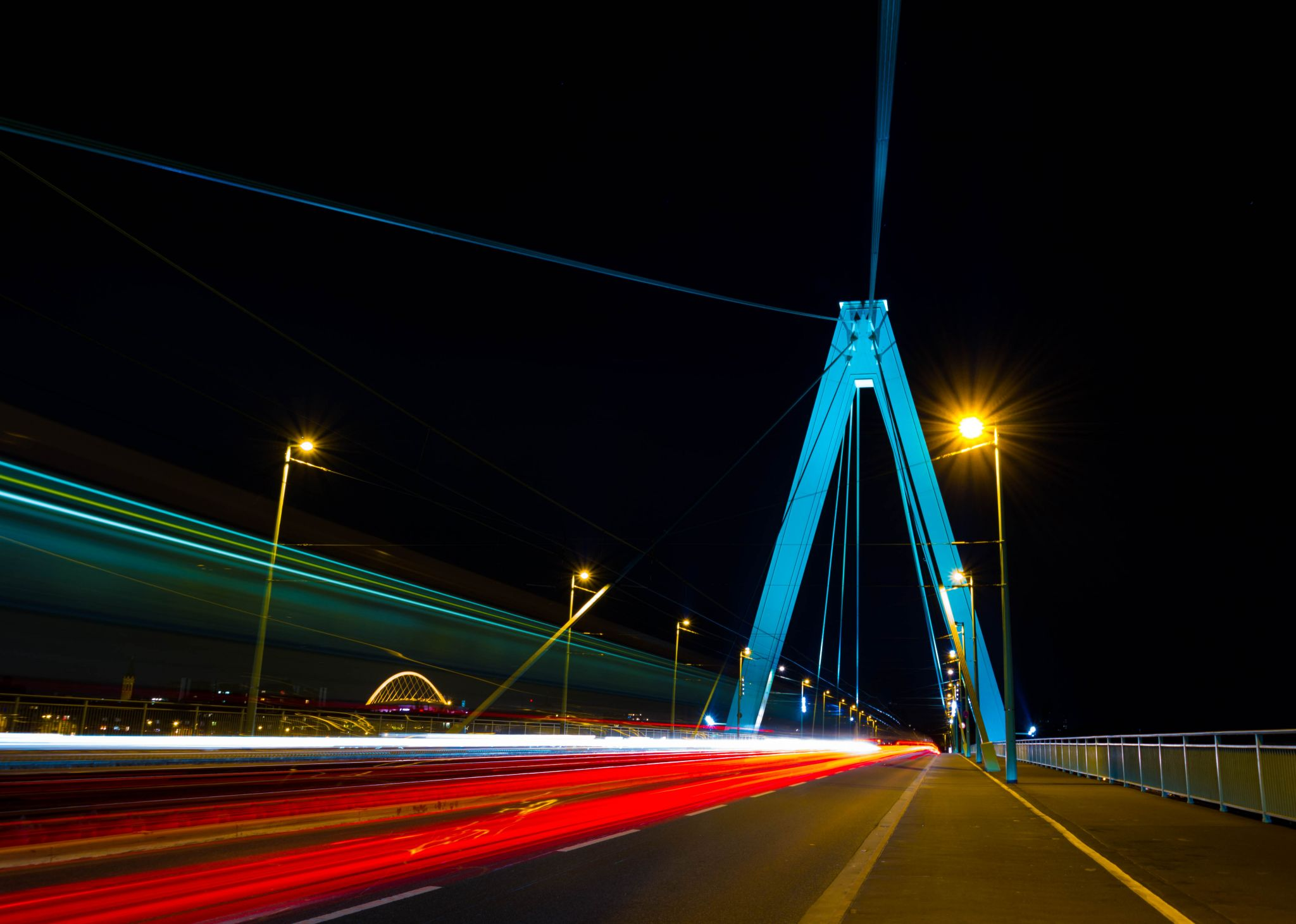 Severinsbrücke, Cologne, Germany