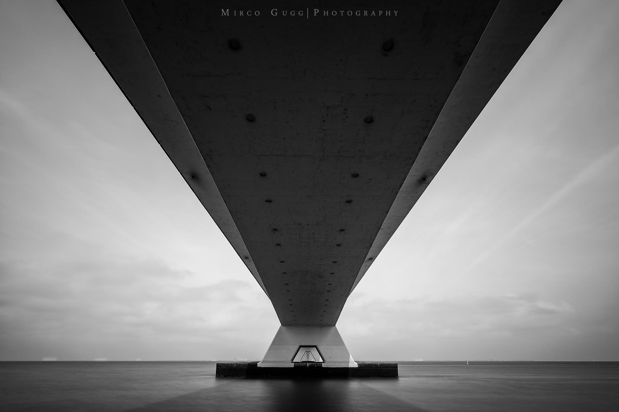 Zeeland Bridge Oosterschelde, Netherlands
