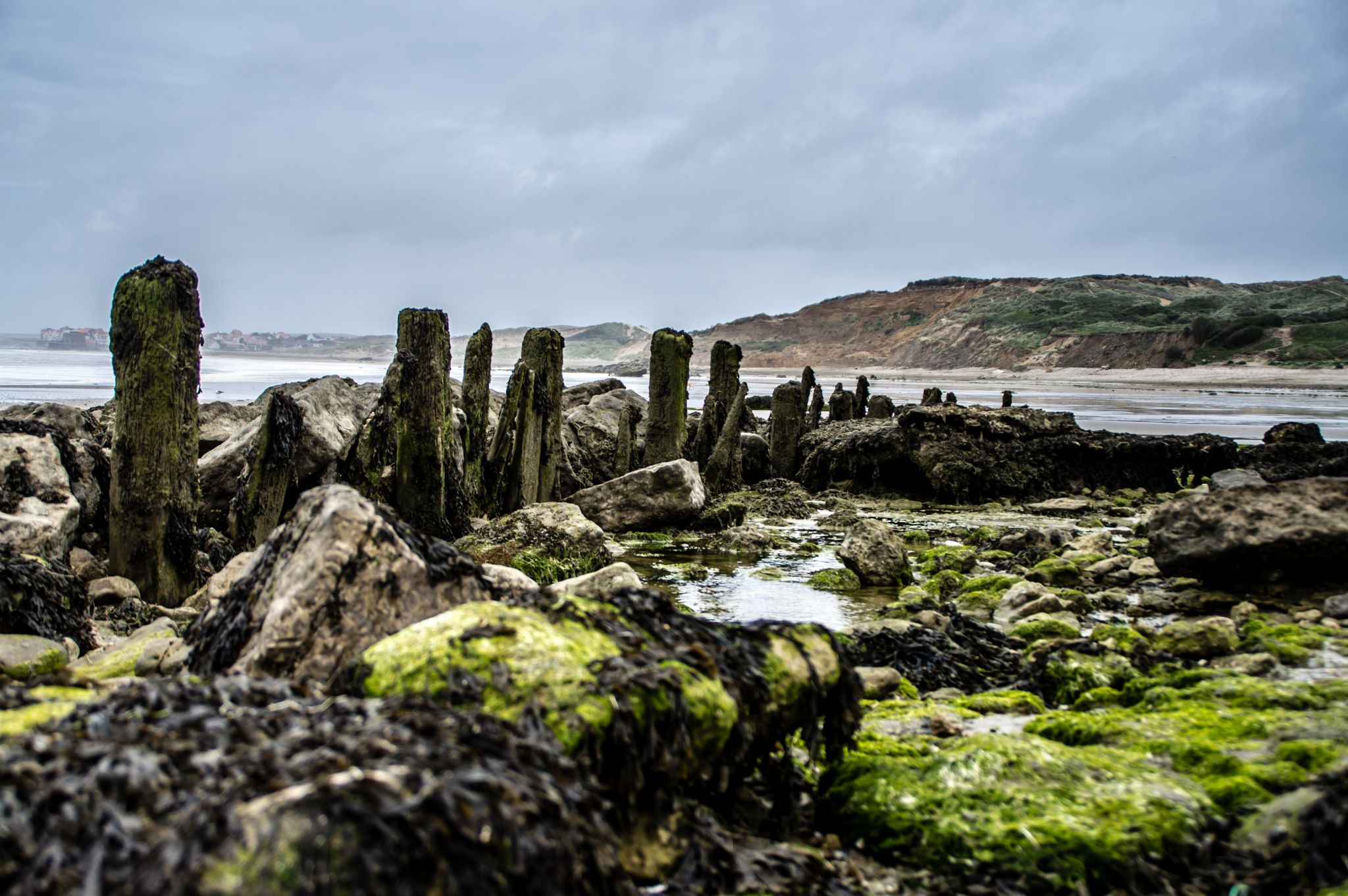 Beach close to Wimereux, France