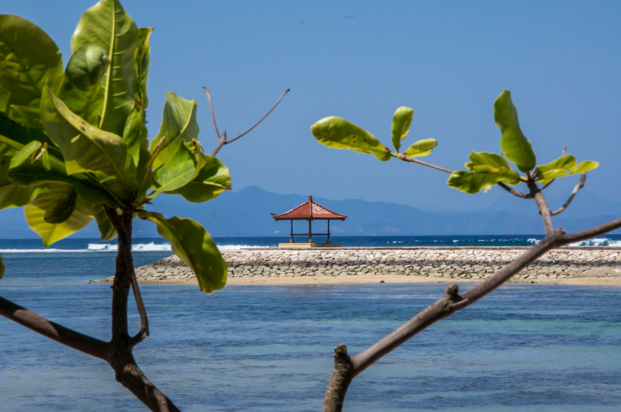 Beach of Sanur, Bali, Indonesia
