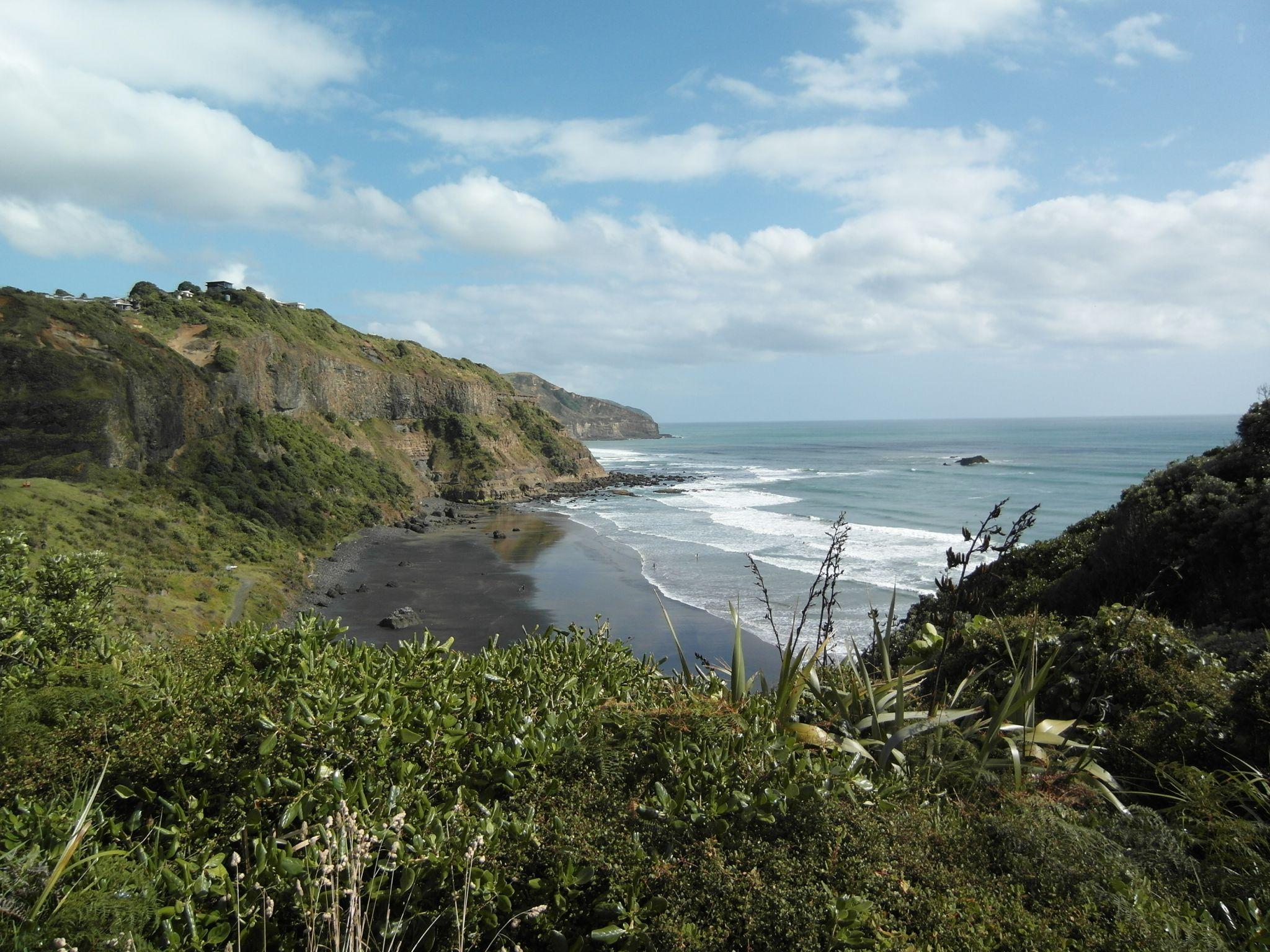 Black Sand Beach Muriwai, New Zealand