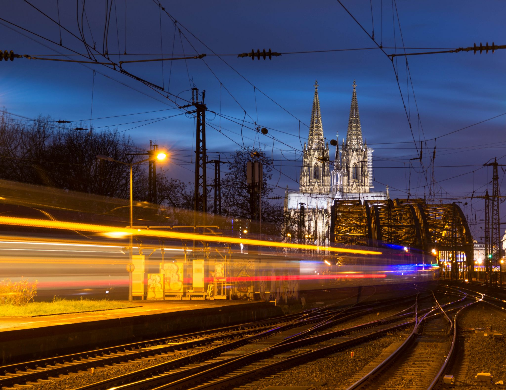 Cologne from the other side, Germany