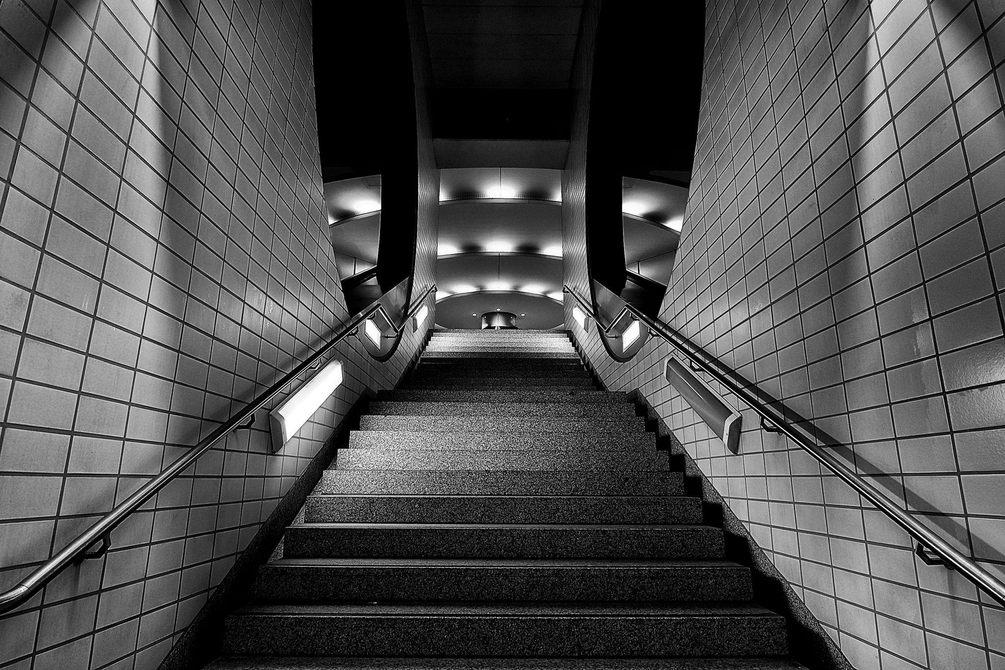 Frankfurt U-Bahnstation Messe, Germany