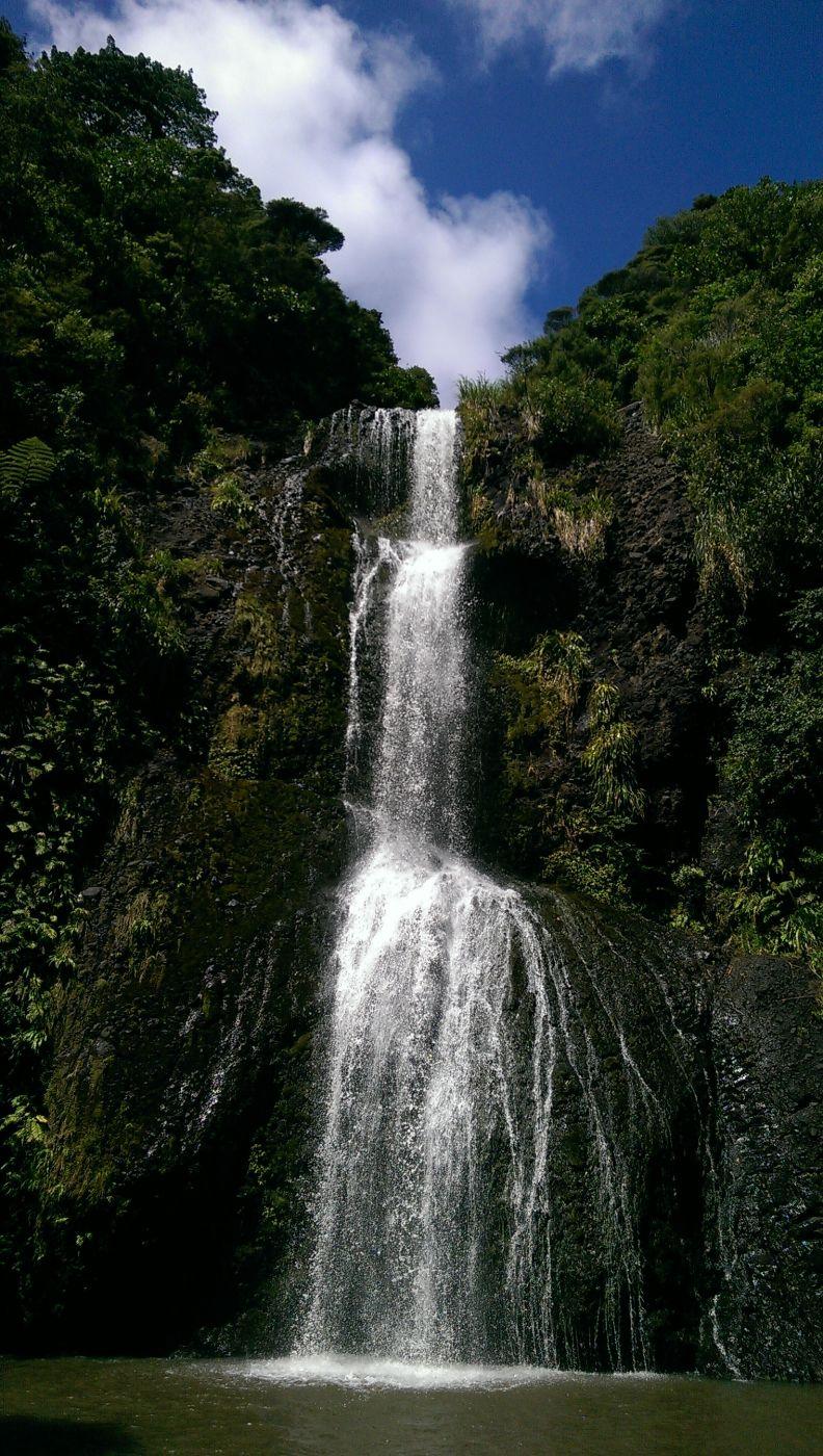 Kitekite Falls, New Zealand