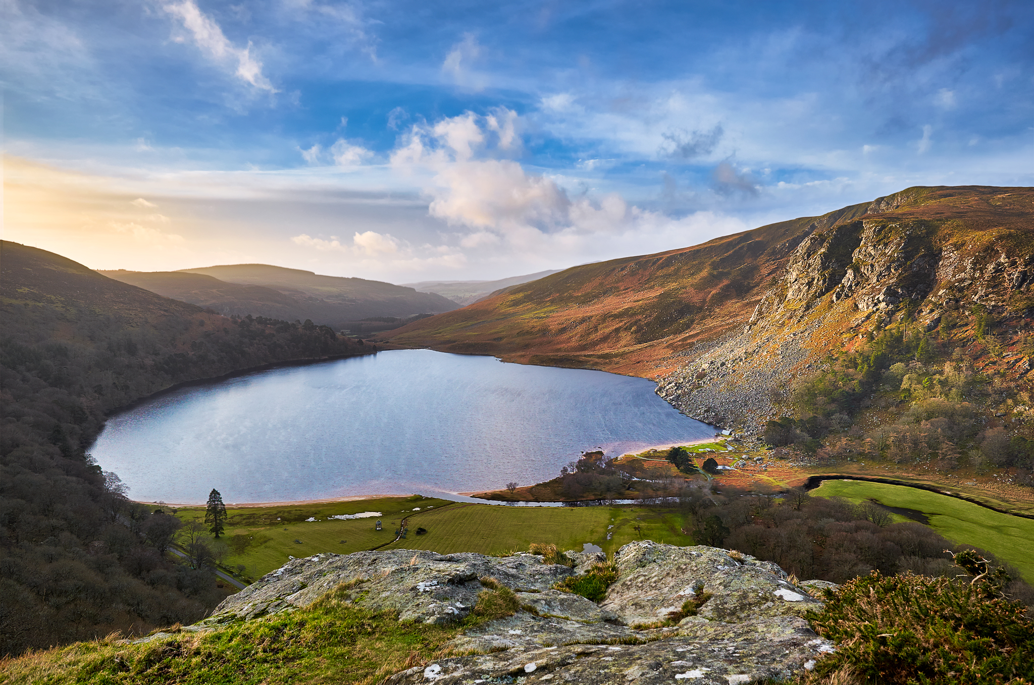 Lough Tay, Wicklow Mountains, Ireland, Ireland