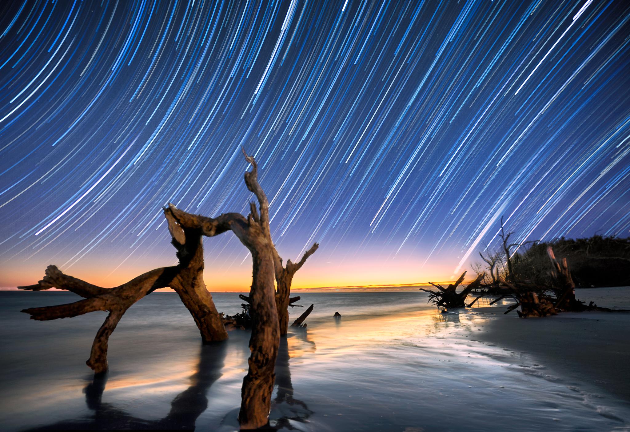 Morris Island Beach, USA