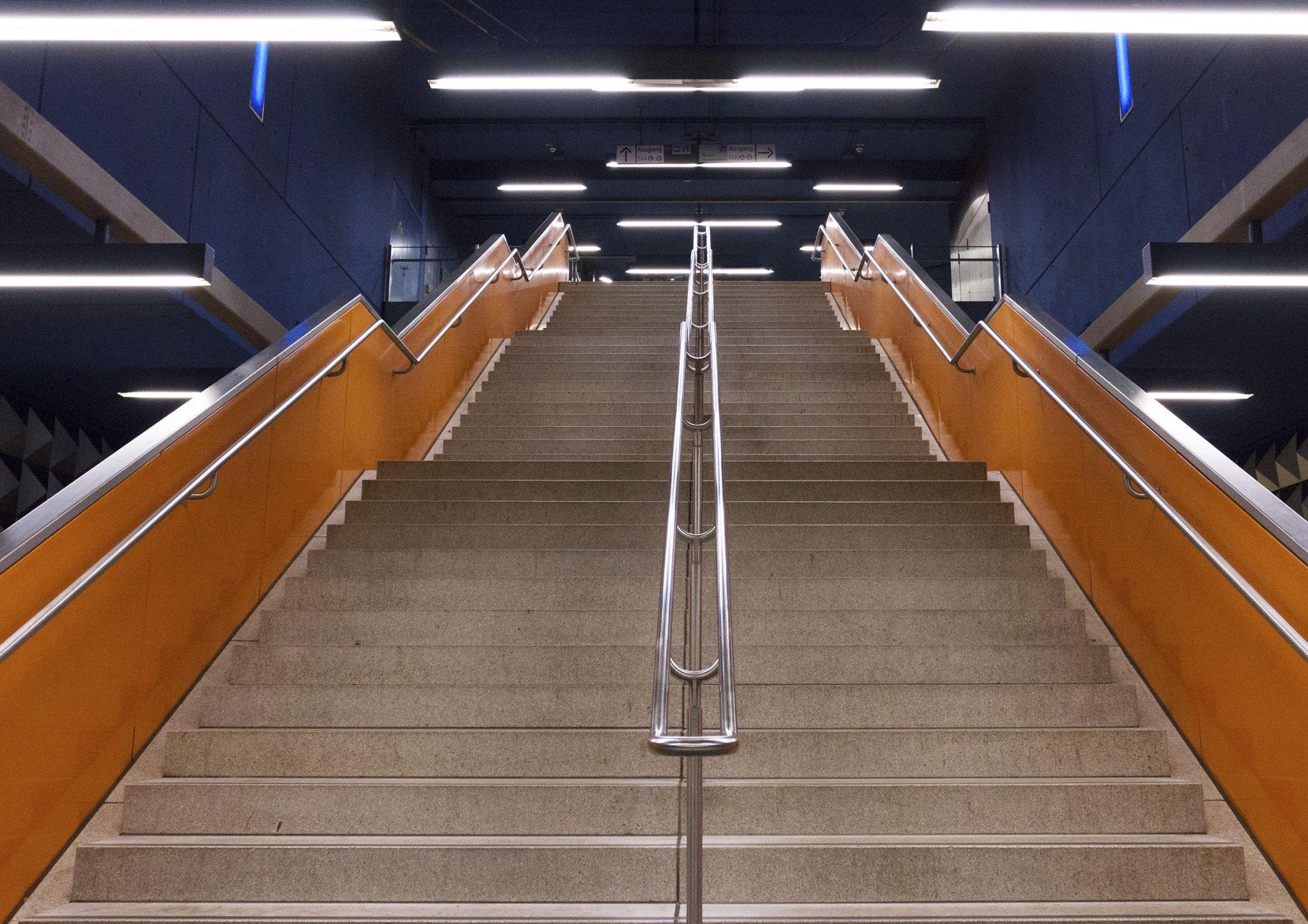 Olympia Einkaufszentrum - Subway Station, Germany