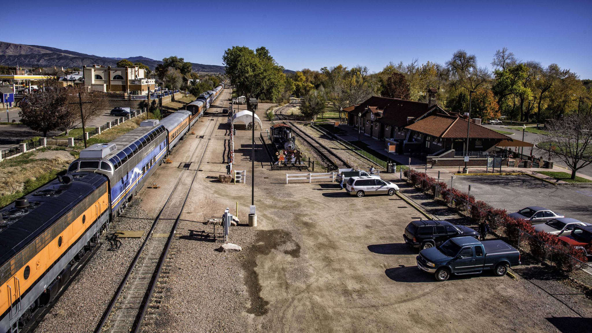 Royal Gorge Route Train Station, USA