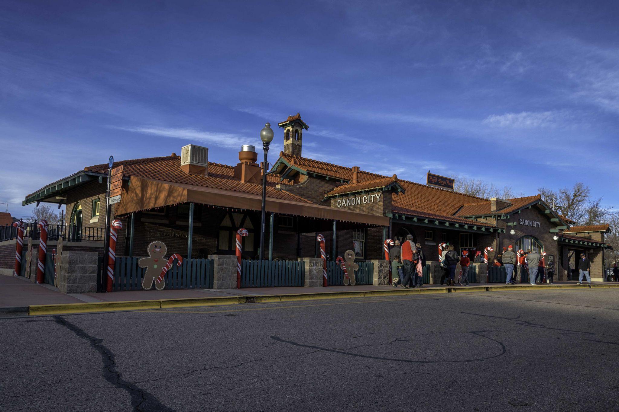 Royal Gorge Route Tran Station, USA