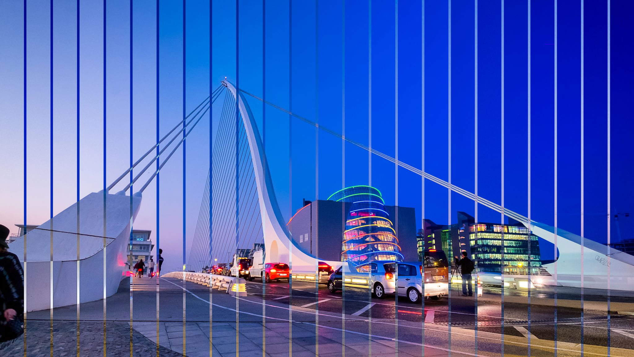 Samuel Beckett Bridge/ National Convention Centre, Ireland