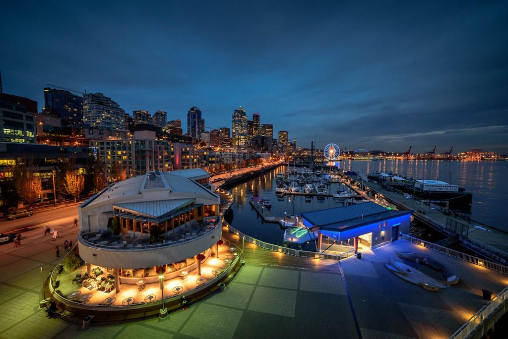 Seattle Waterfront, USA