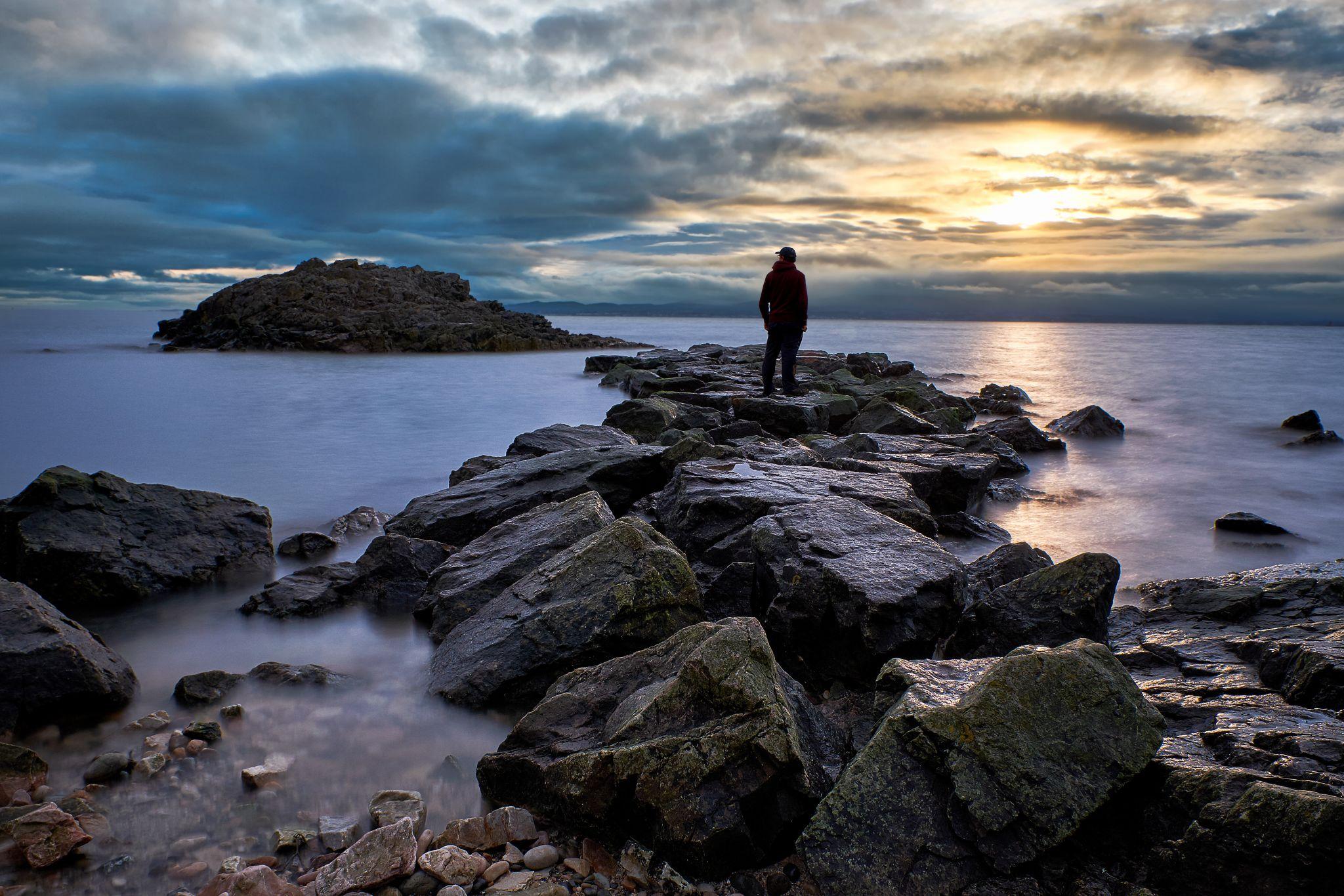 Secret beach, Howth head, Ireland
