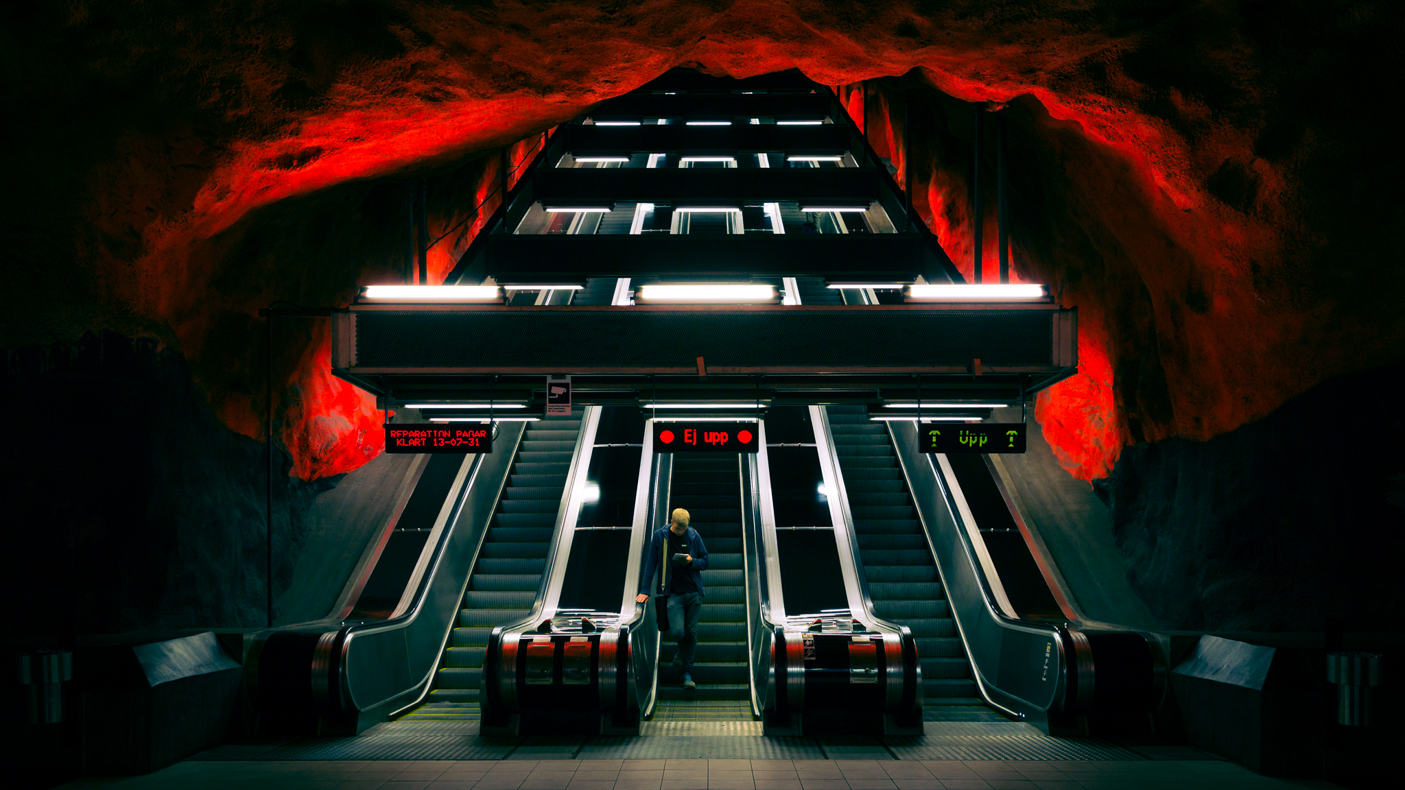 Solna Subway Station, Sweden