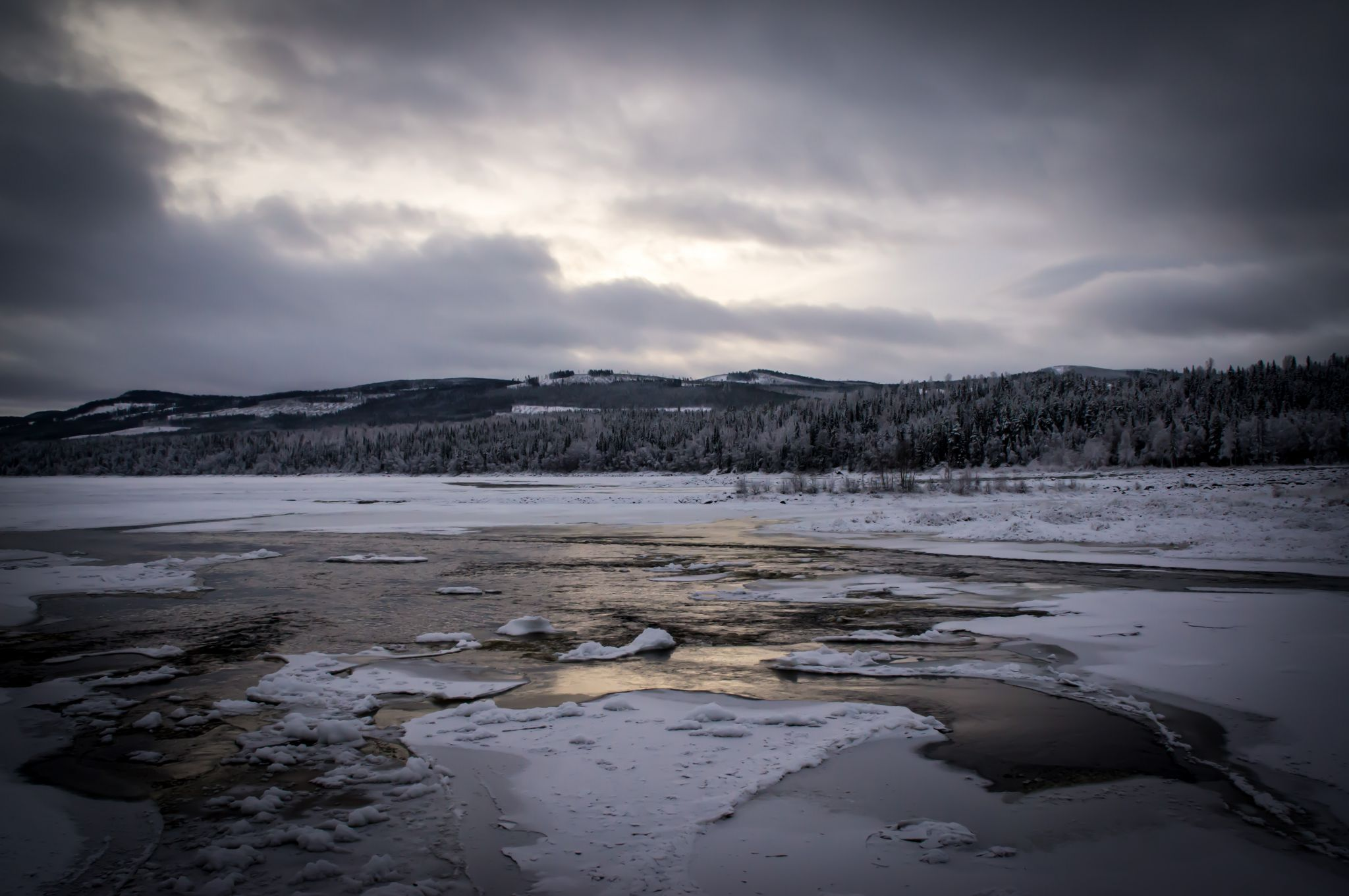 Storforsen pite river, Norrbottens län, Sweden, Sweden
