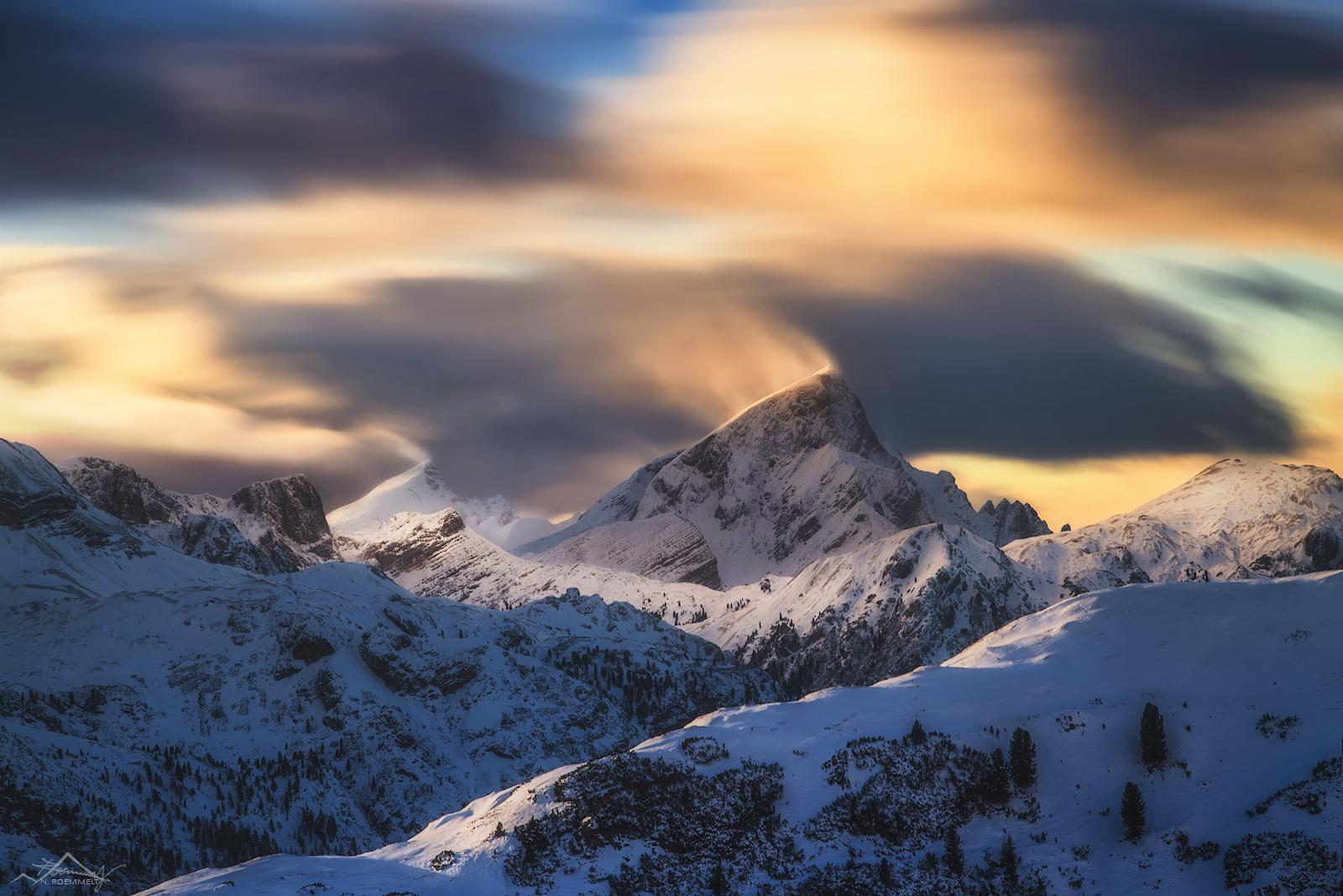 Summit of Strudelkopf, Italy