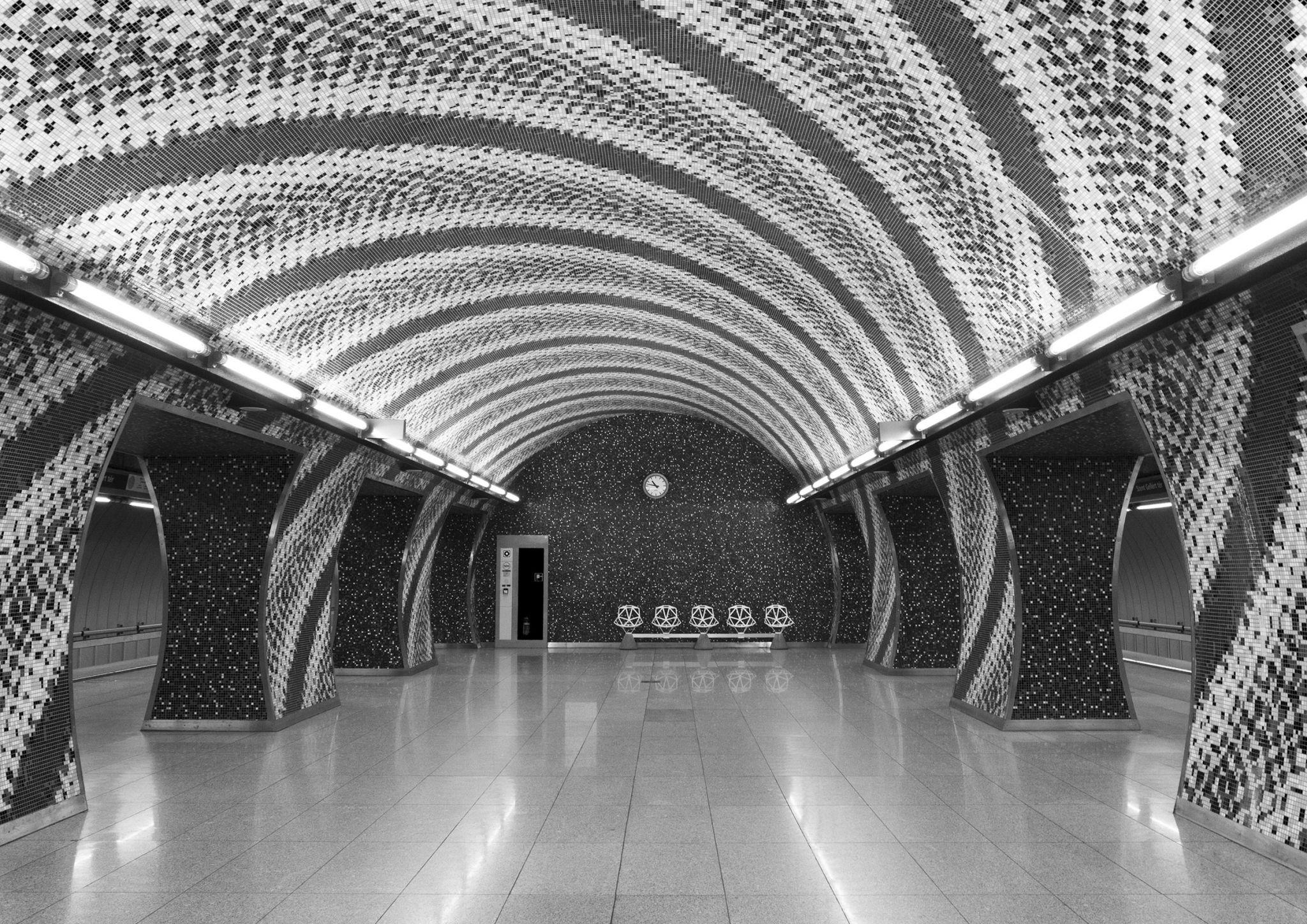Szent Gellért tér - Subway Station, Hungary