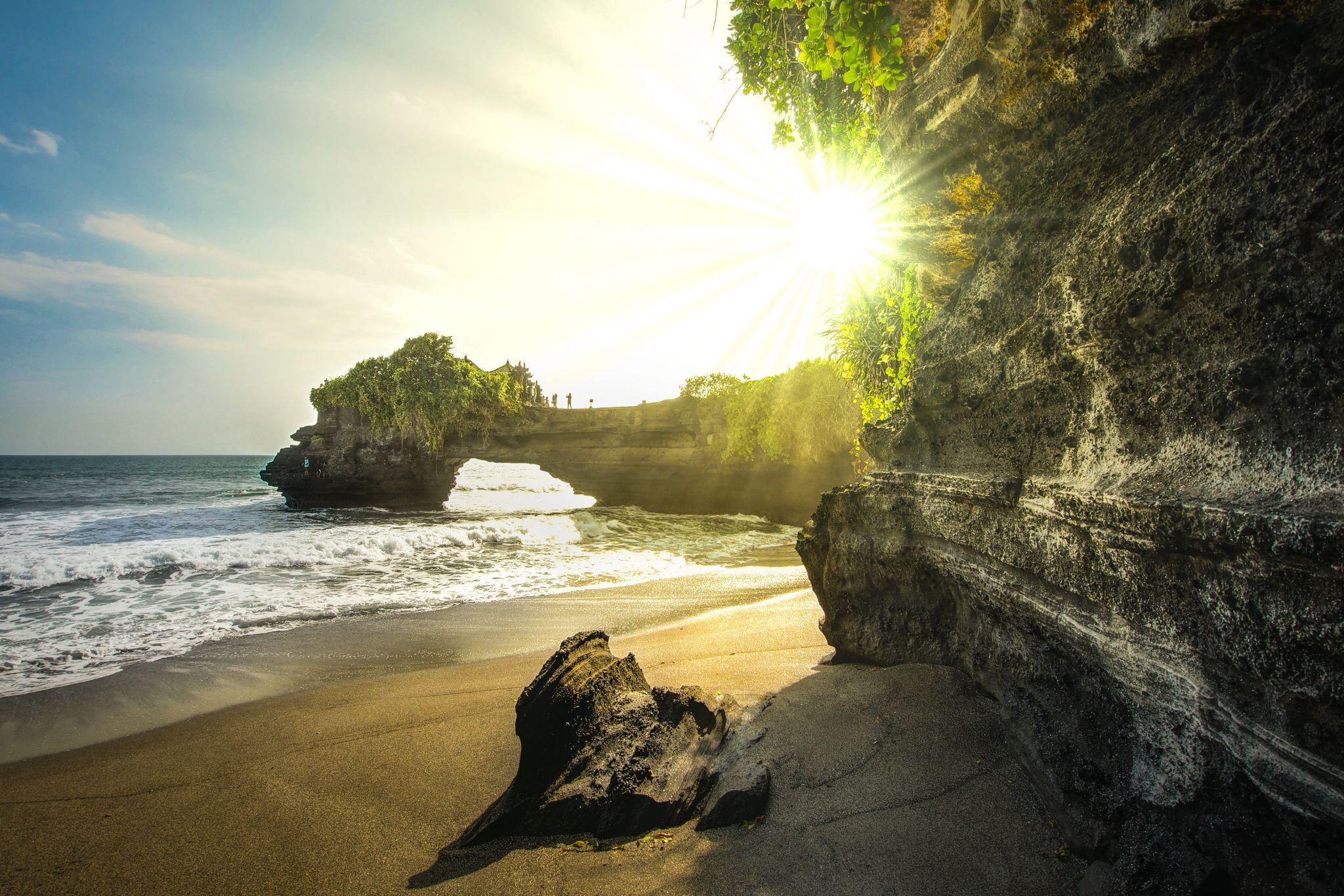 Tanah lot bali Rocks, Indonesia
