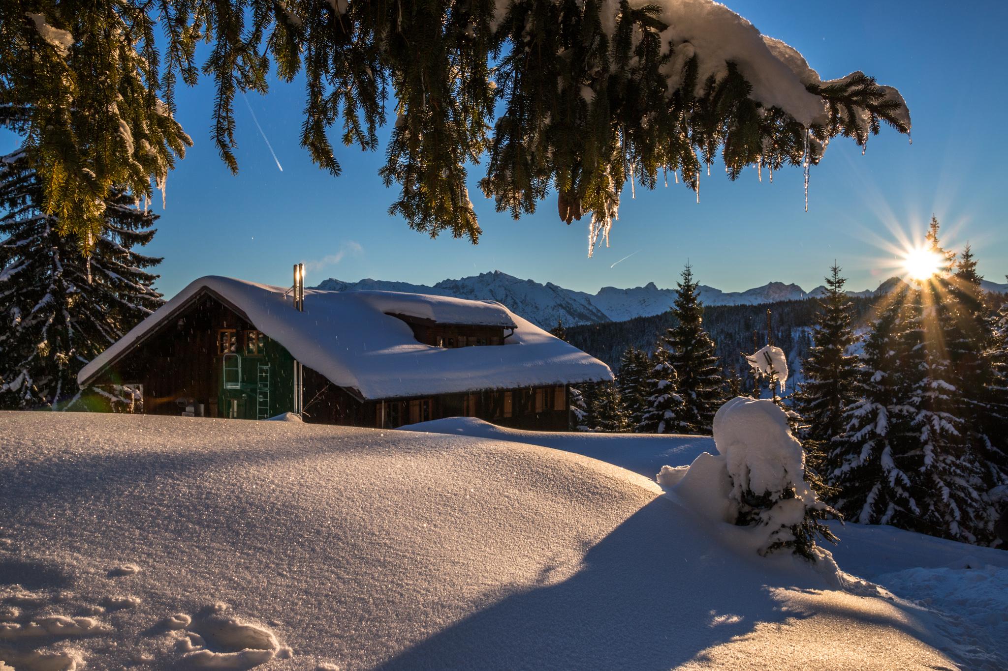 Wannenkopfhütte, Oberallgäu, Germany
