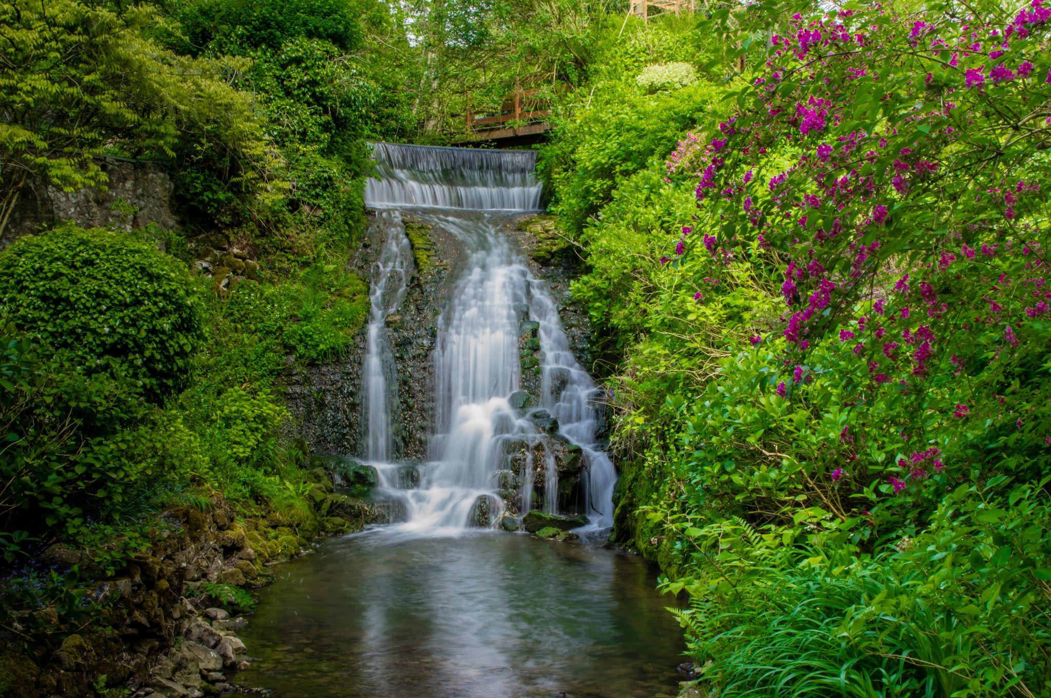 Waterfall Denacre, France, France