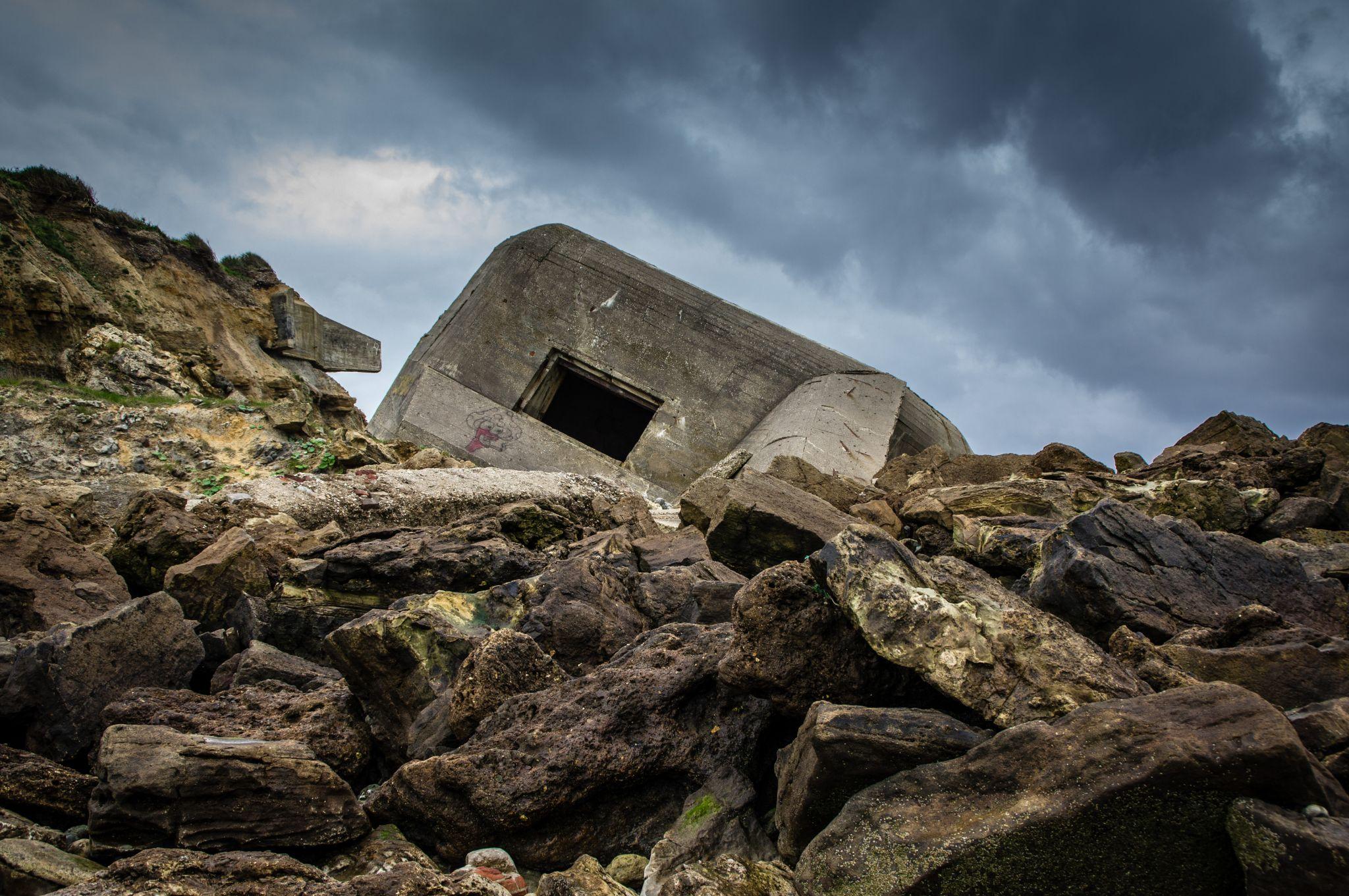WW2 Bunker Wimereux, France