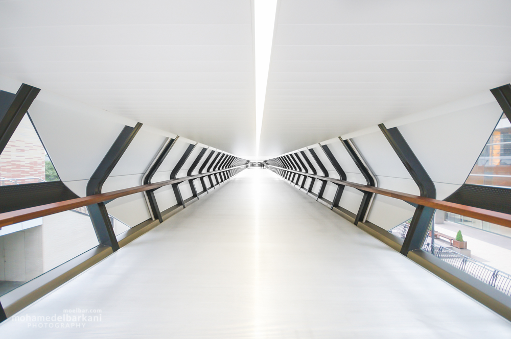 Adams Bridge, Crossrail Plaza, Canary Wharf, United Kingdom