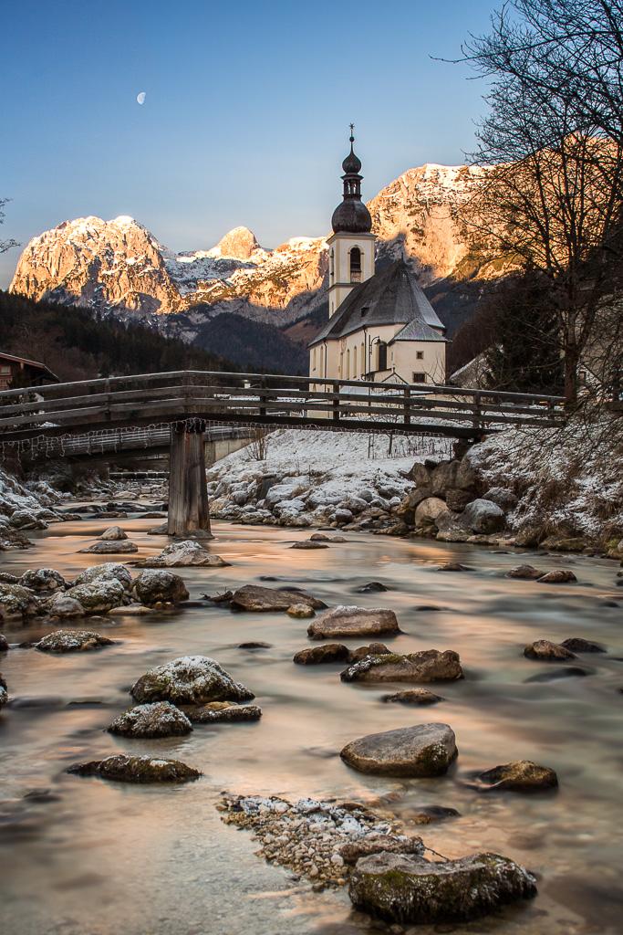 Church St. Sebastian, Ramsau, Berchtesgaden, Germany