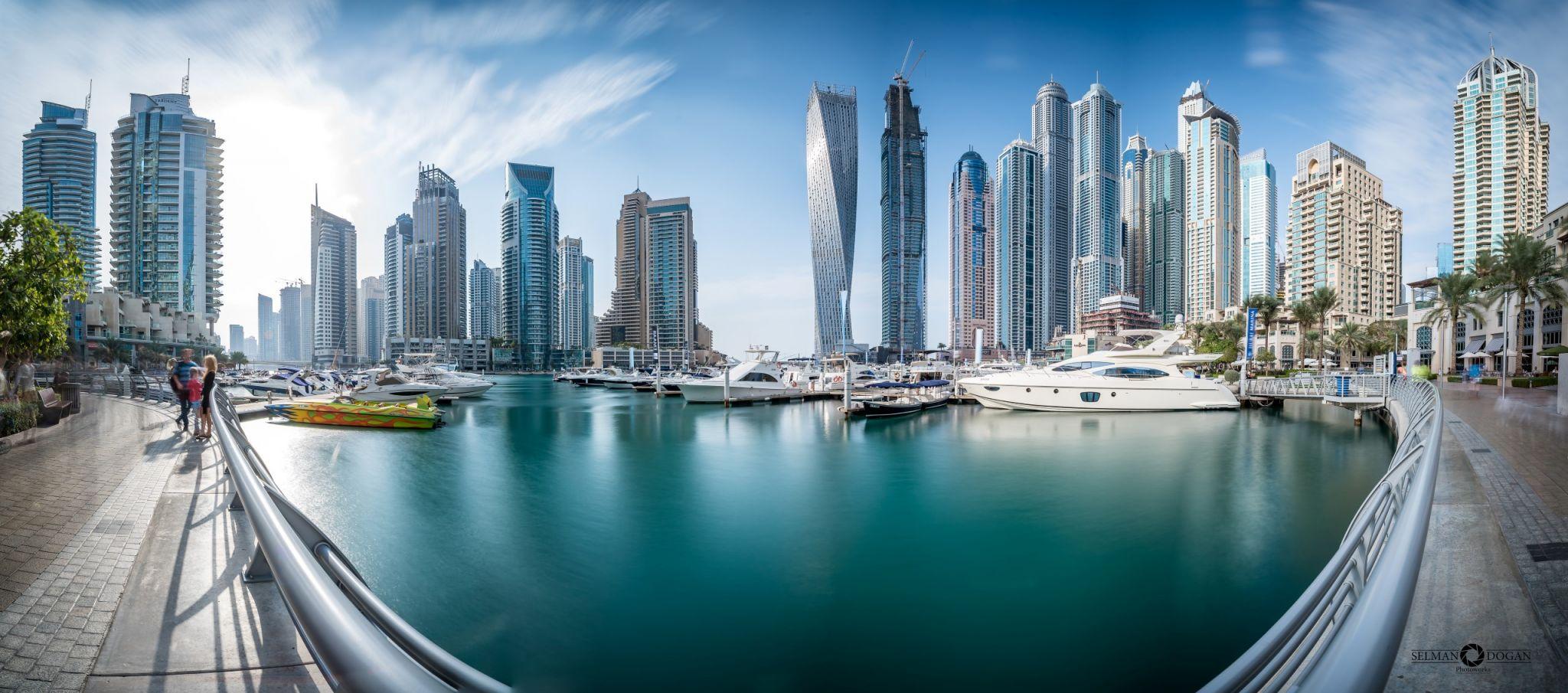 Dubai Marina - Panorama, United Arab Emirates