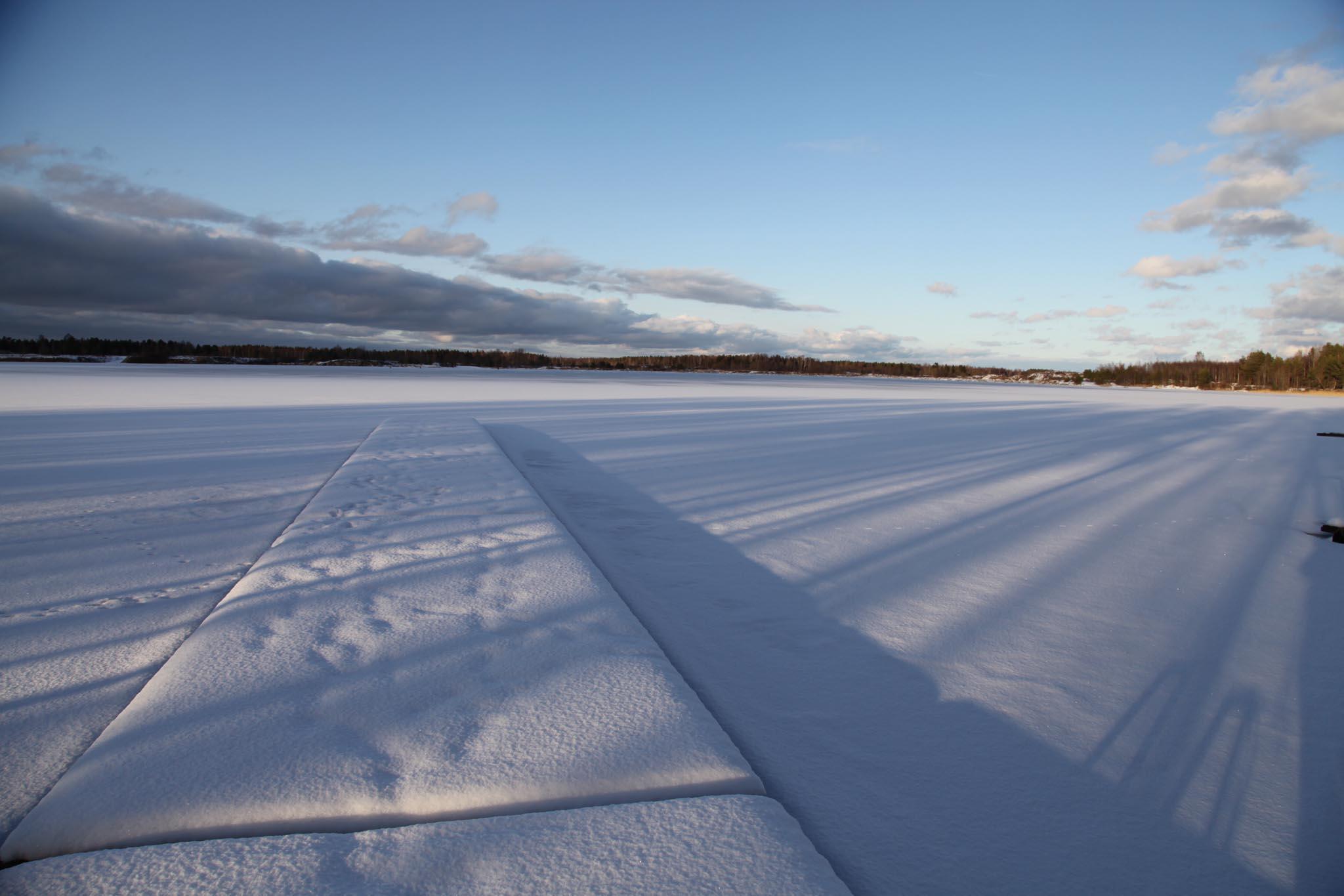 Frozen Lake, Estonia