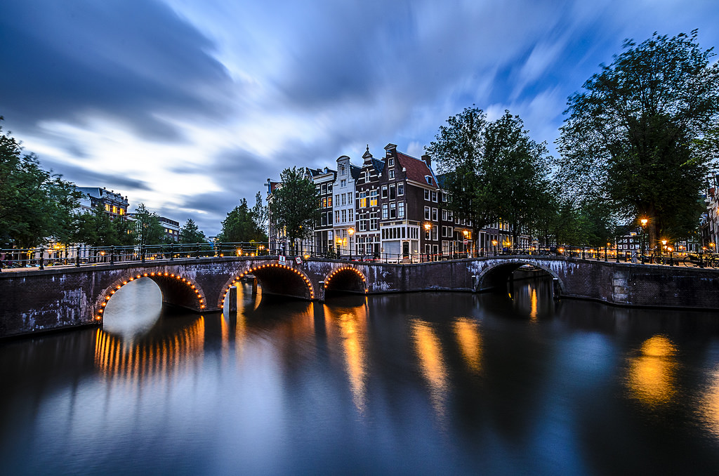 Keizersgracht and Leidsegracht, Netherlands