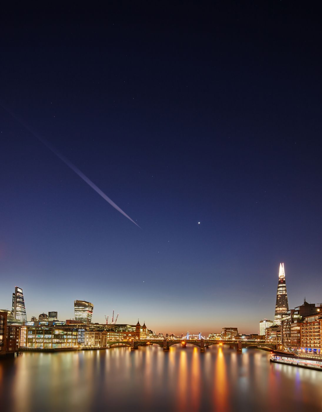 London, river side, by the millenium bridge, United Kingdom