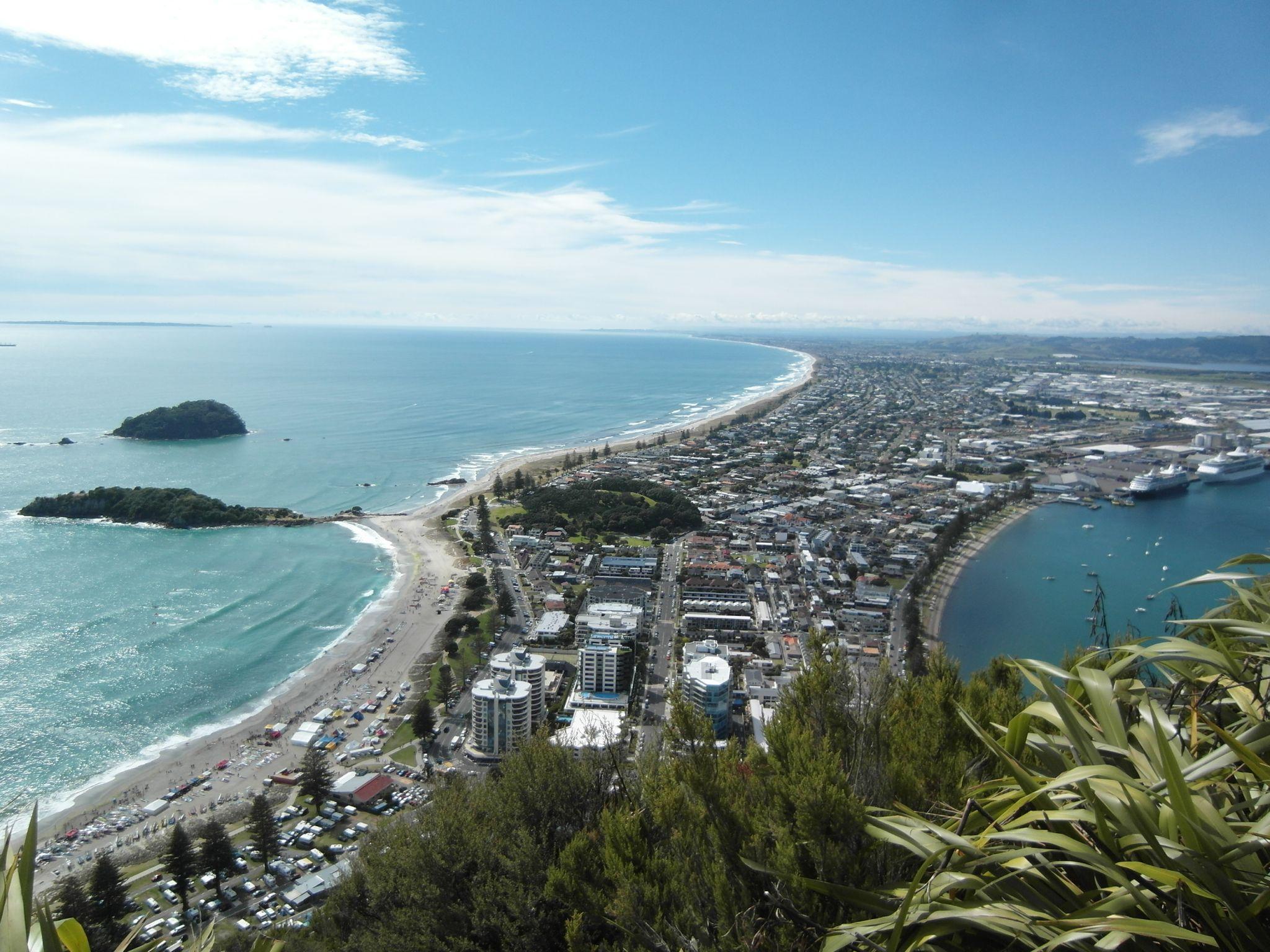 Mt. Manganui, New Zealand