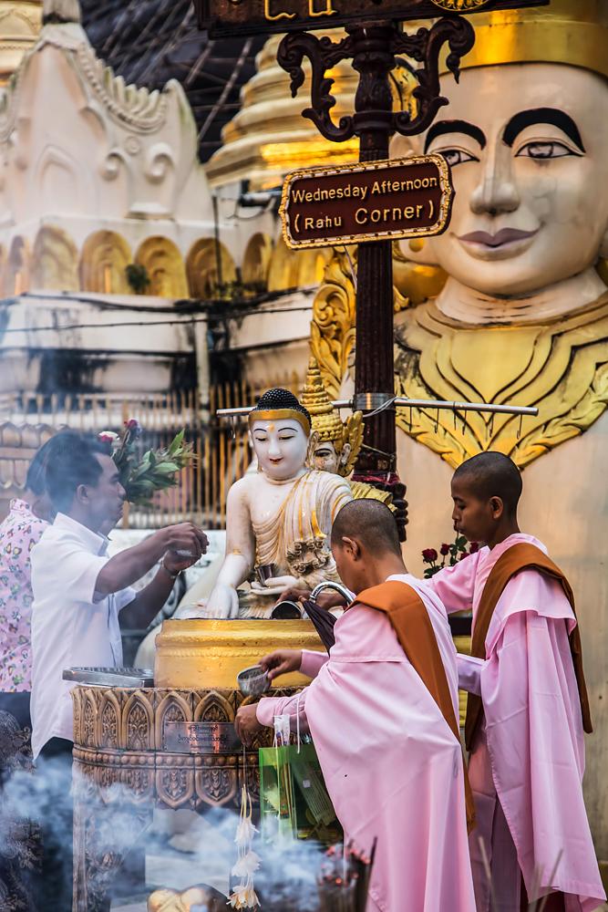 Pagoda of the eight weekdays, Myanmar